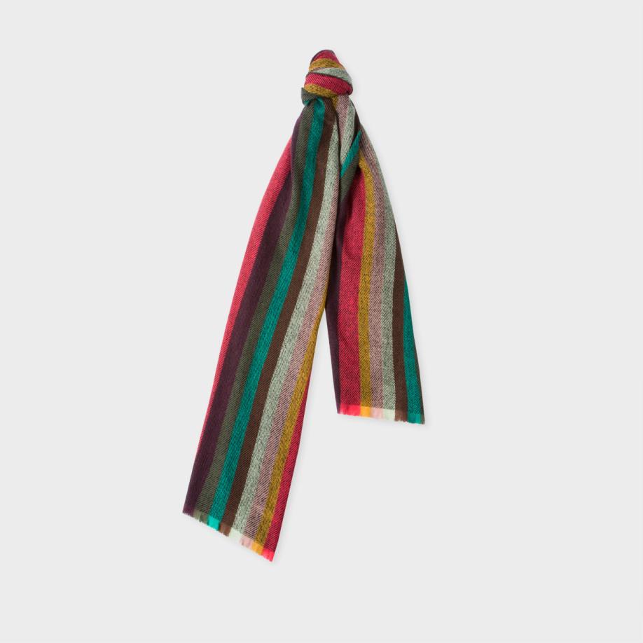 paul smith s multi coloured chevron artist stripe