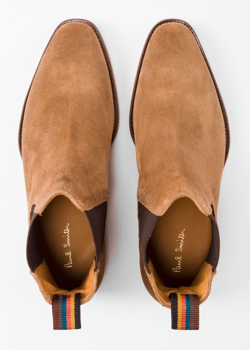 a51fd1de1b7 Paul Smith Men s Camel Suede  bobby  Chelsea Boots in Natural for ...