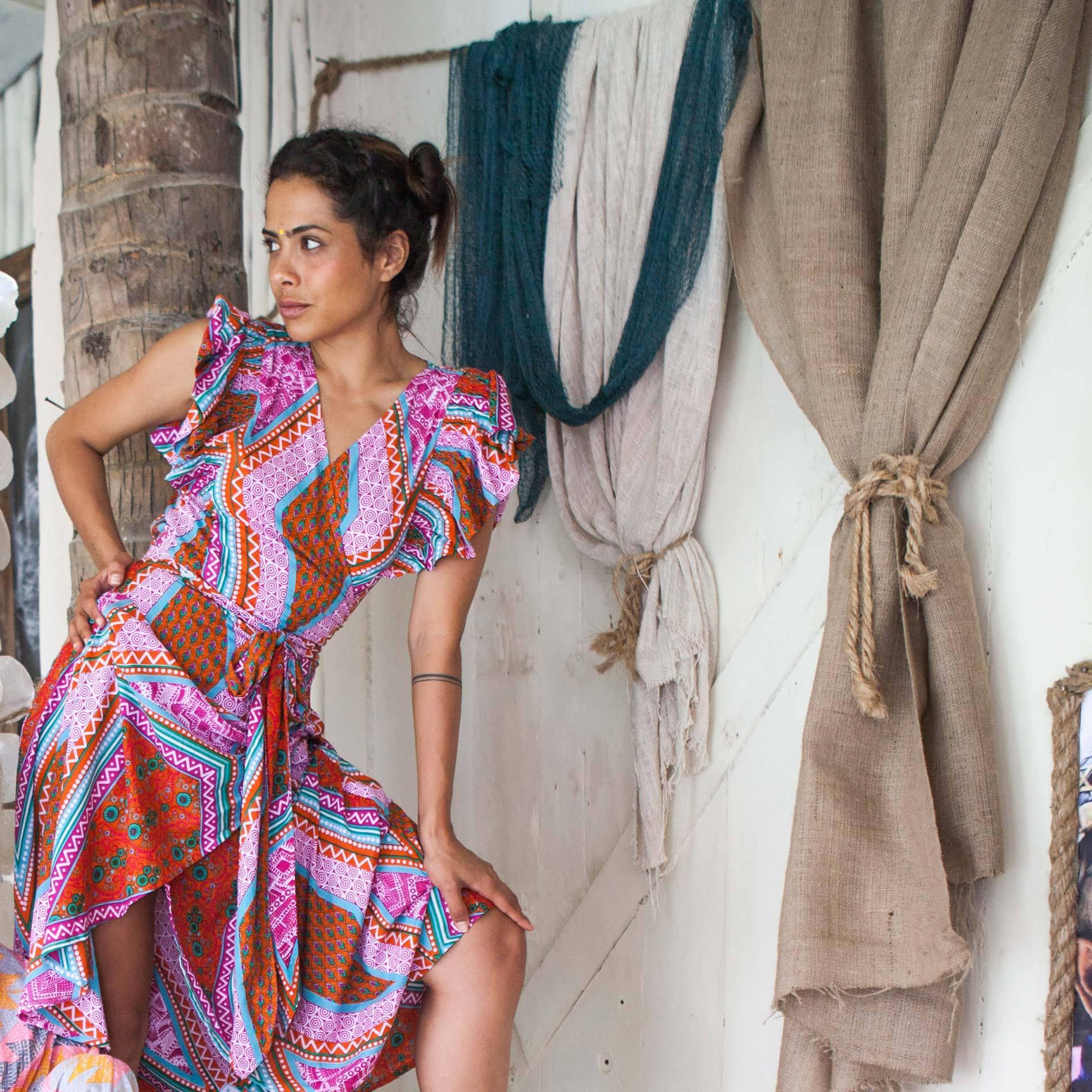 feather find chantika dress carnival of love lyst
