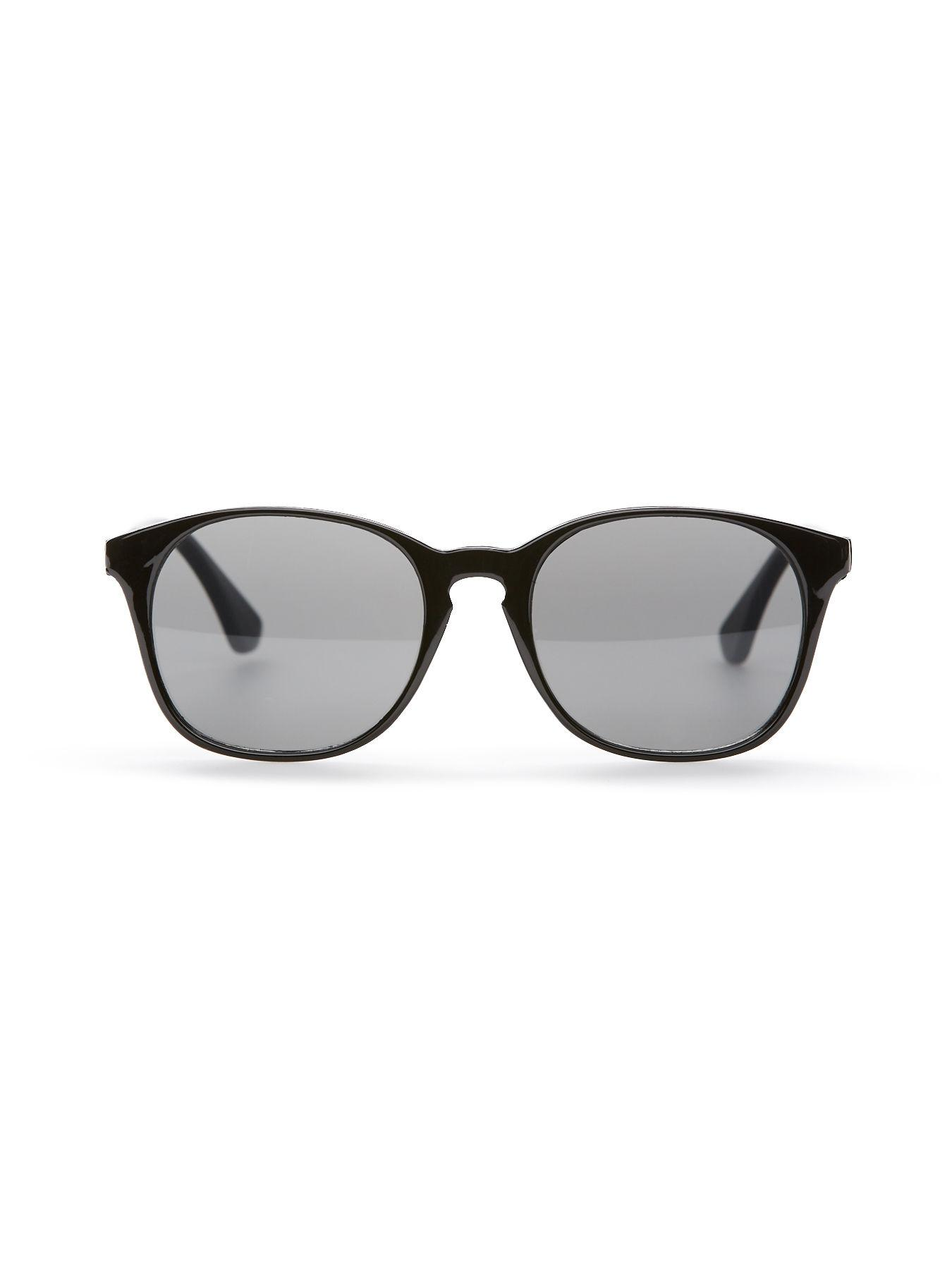 4ee3f9f78b Perry Ellis - Black Solid Round Sunglasses for Men - Lyst. View fullscreen