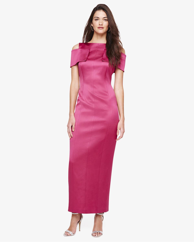 56fc83981bebd Lyst - Phase Eight Jaida Bardot Maxi Dress in Pink