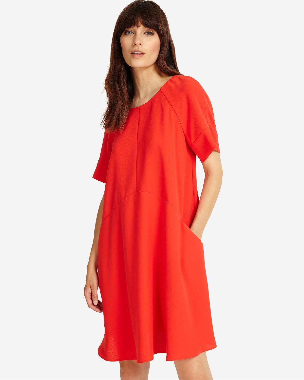 Lyst - Phase Eight Zelda Swing Dress in Red 60b2bfc54