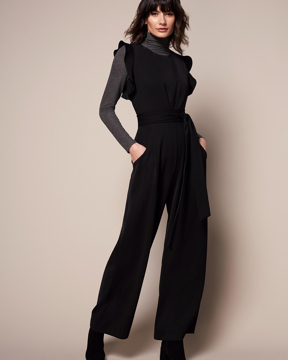 c29623309934 Phase Eight Victoriana Jumpsuit in Black - Lyst