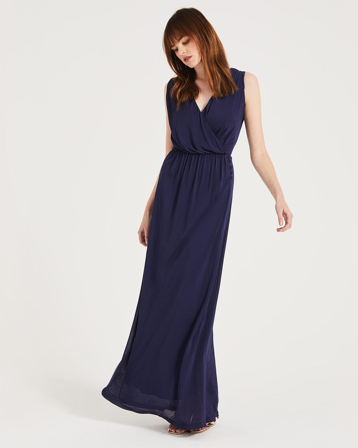 87abe758246 Phase Eight Lisabet Maxi Dress in Blue - Lyst