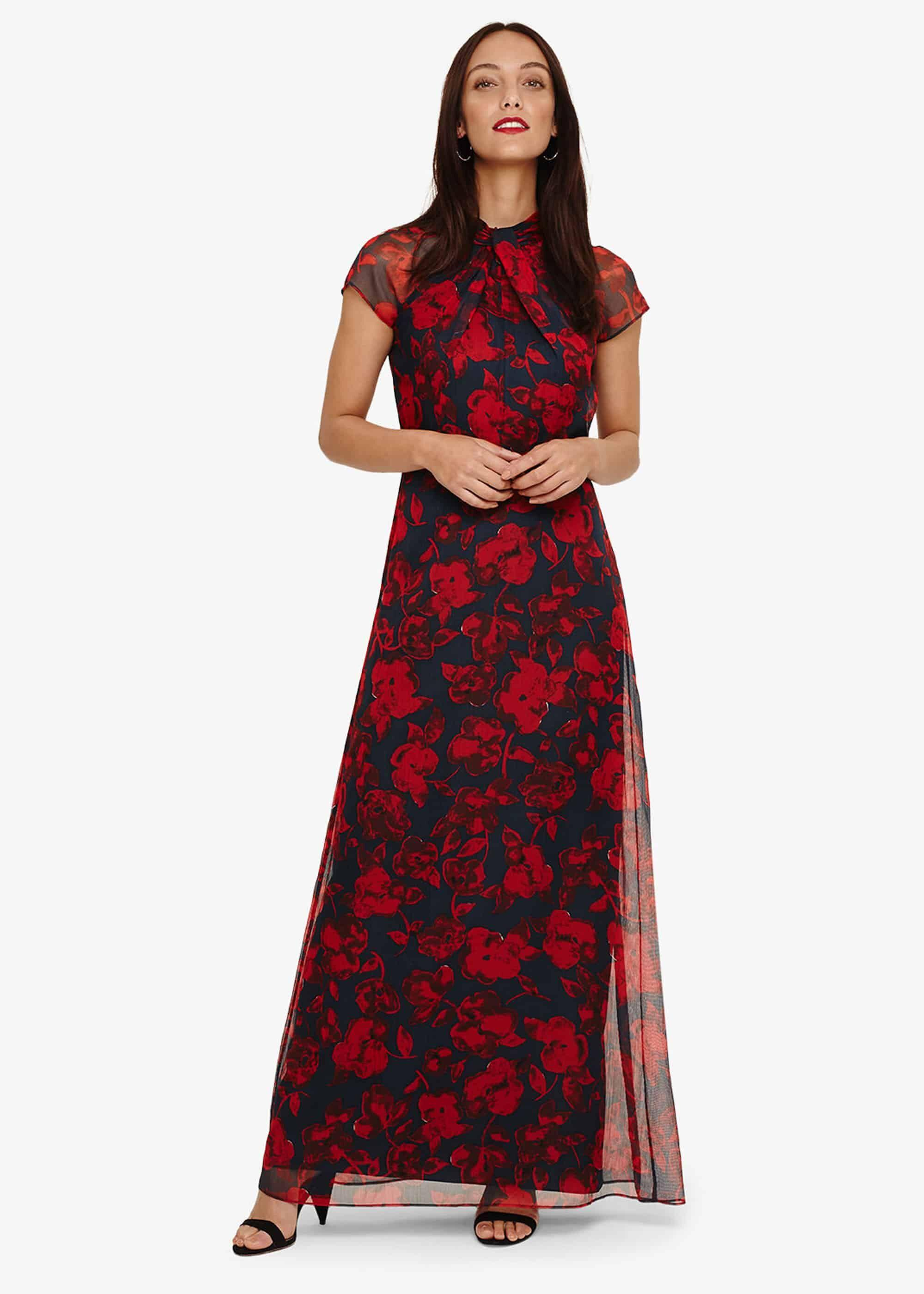 50fb88b116afe Phase Eight Fredrica Floral Maxi Dress in Red - Save 20% - Lyst
