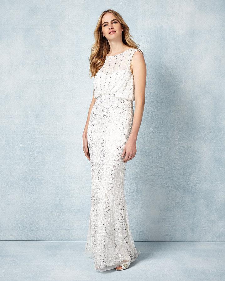 Lyst - Phase Eight Hope Wedding Dress in Black