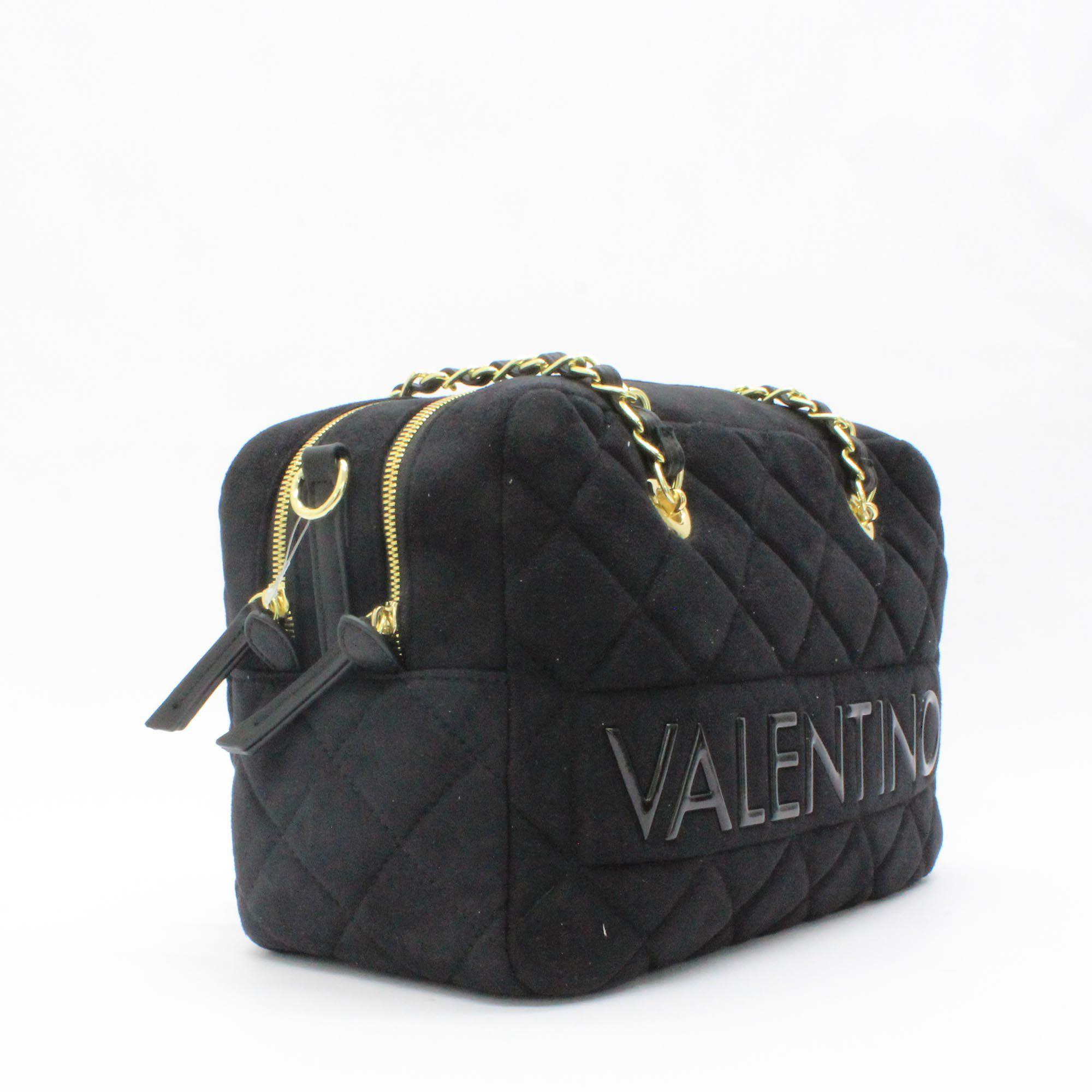 e53421f6c57f Valentino - Arrival Quilt Bowler Bag Black - Lyst. View fullscreen