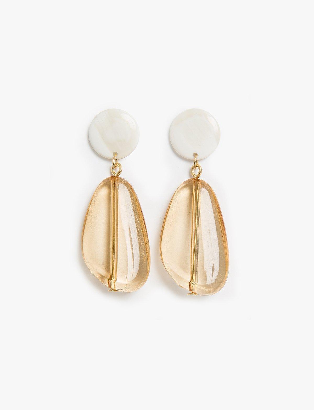 Pixie Market Women S Amber Drop Chandelier Earrings