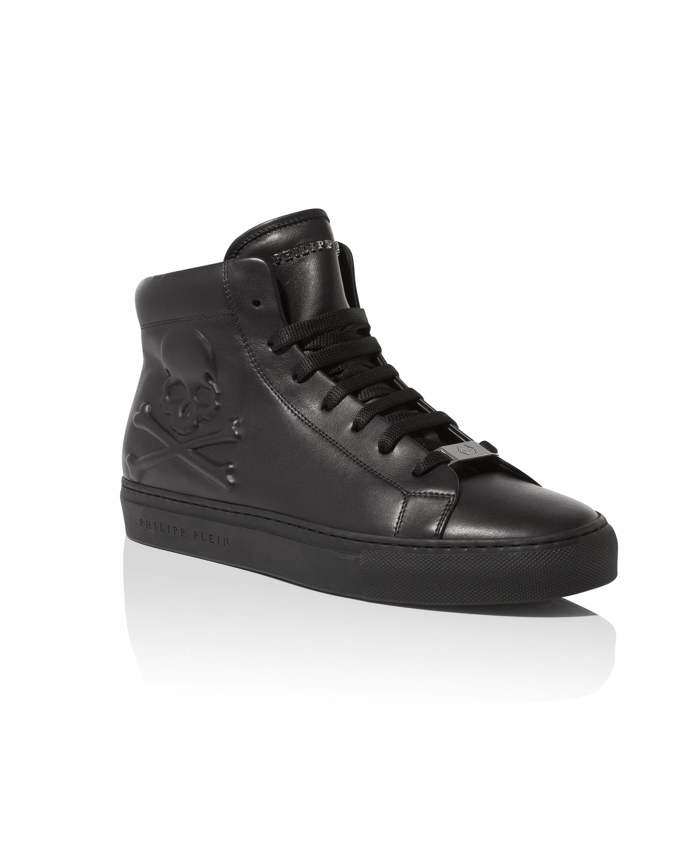 Hexagonal hi-top sneakers - Green Philipp Plein A0HOkvS