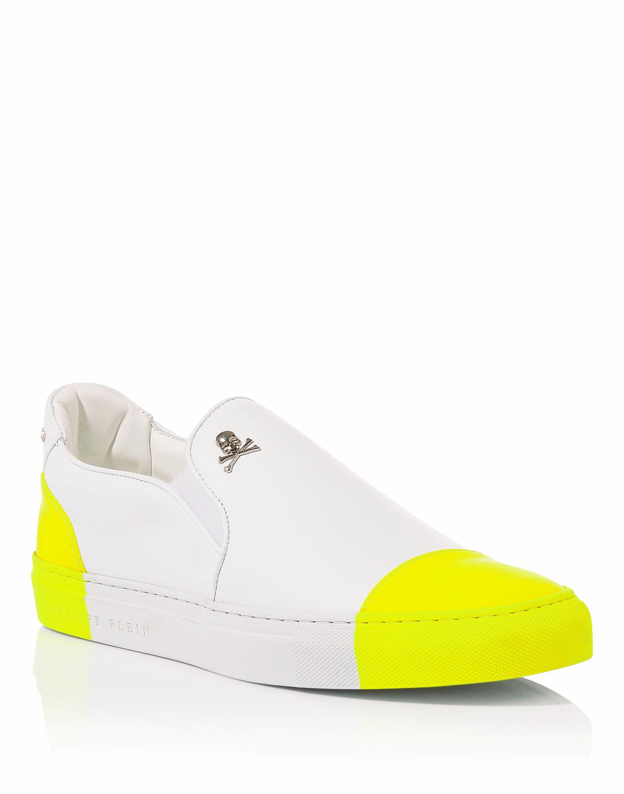 "Philipp PleinSlip On ""Spring colors fluo"""