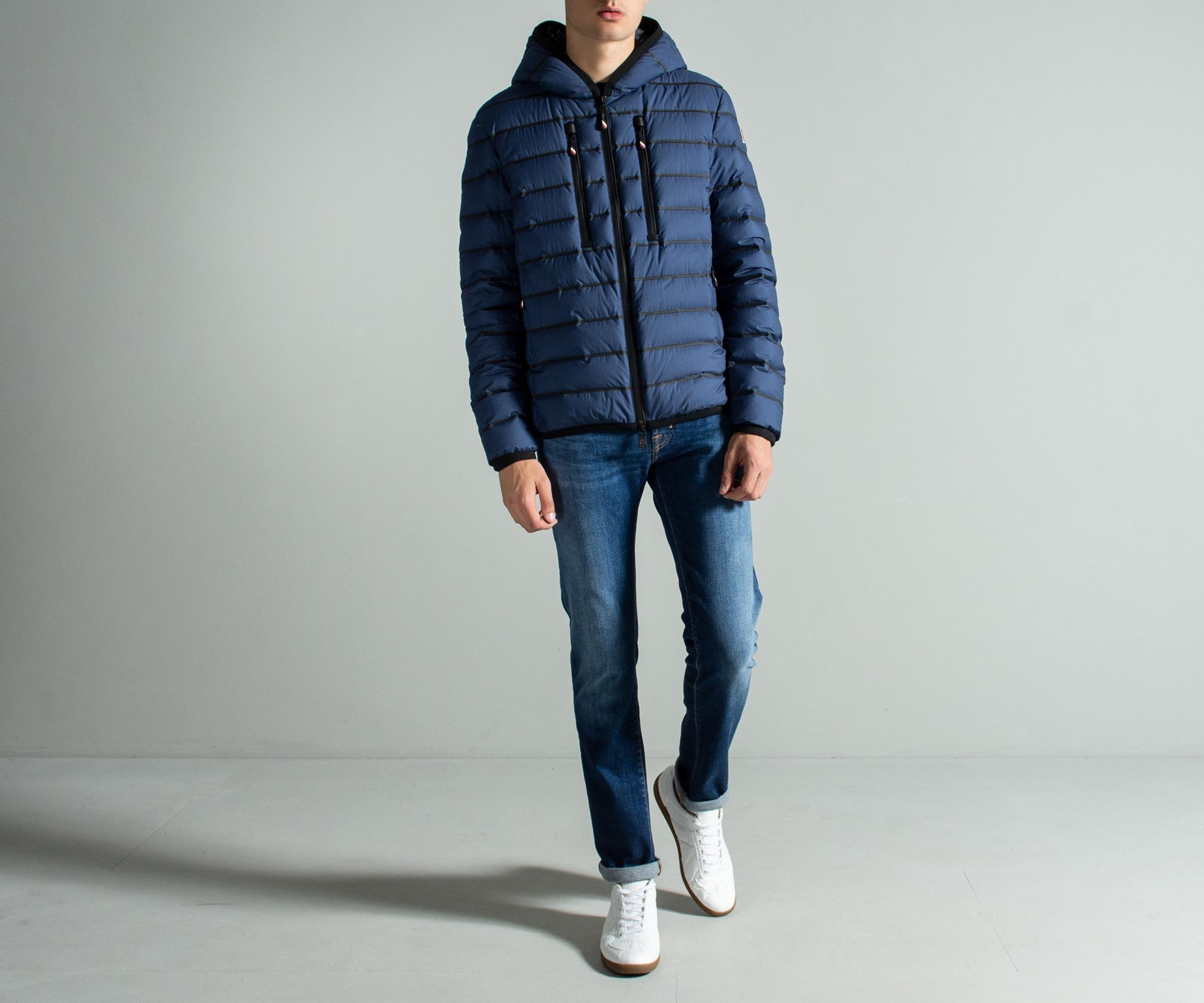 a0744a08b Moncler Grenoble Padded Jacket in Blue for Men - Save 8% - Lyst