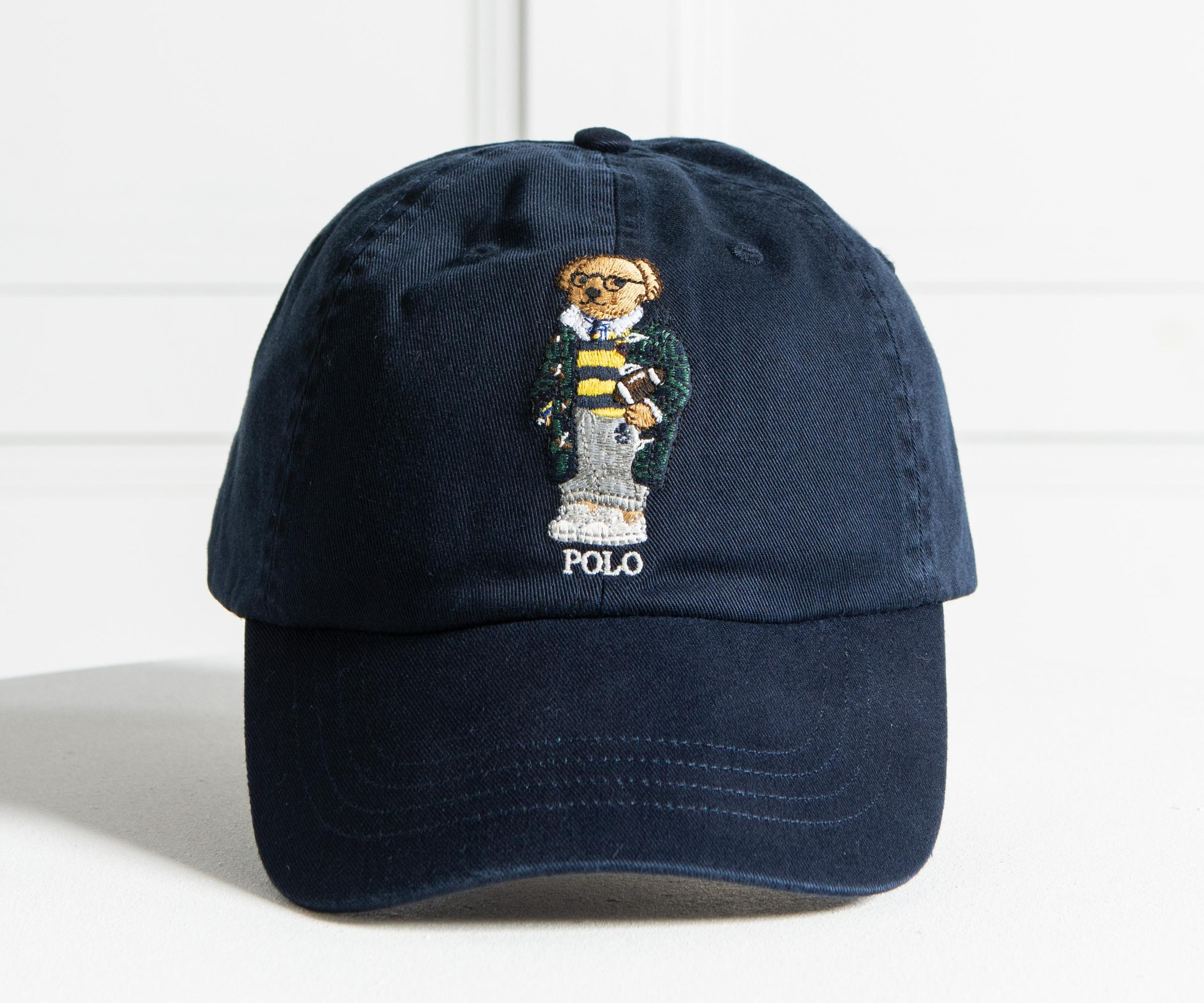 Lyst - Polo Ralph Lauren  polo Bear  Cap Navy in Blue for Men 81d2d80df2ec