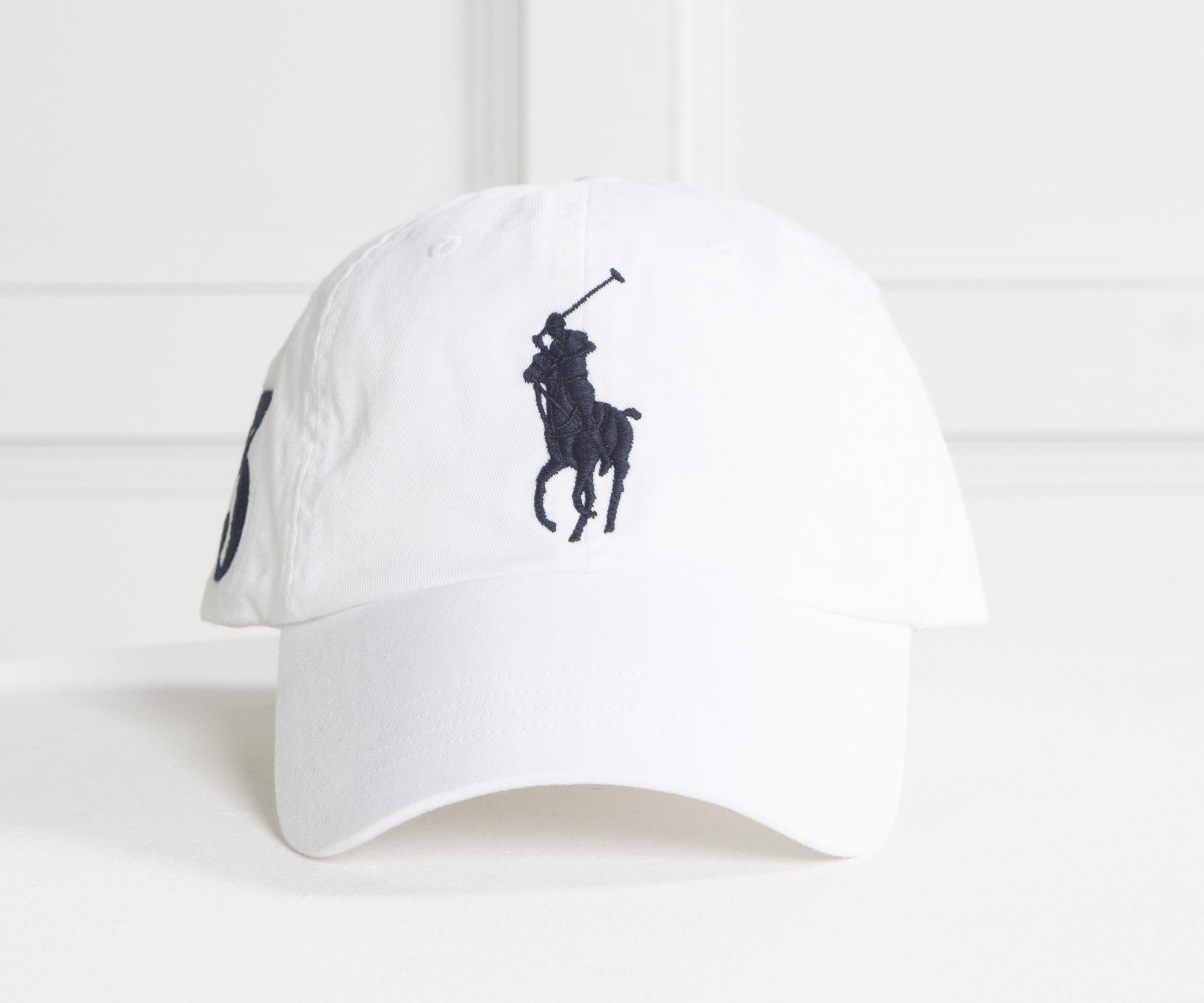 Ralph Lauren Large Pony Cap Navy With White Horse in Blue for Men - Lyst 7c08bc30458c