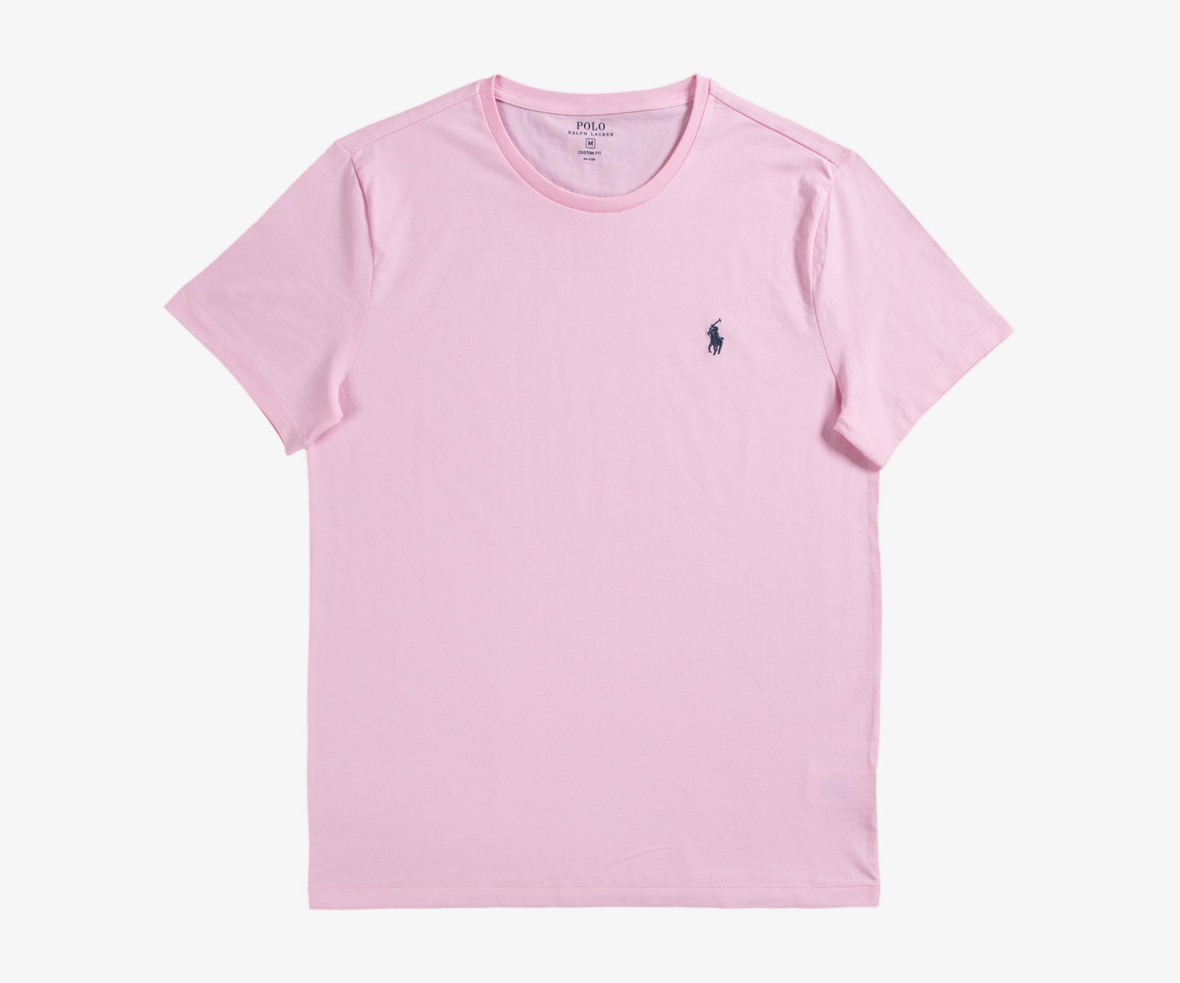 Carmel In Classic For Men Lauren Custom T Ralph Shirt Pink Fit 8XwON0Pkn