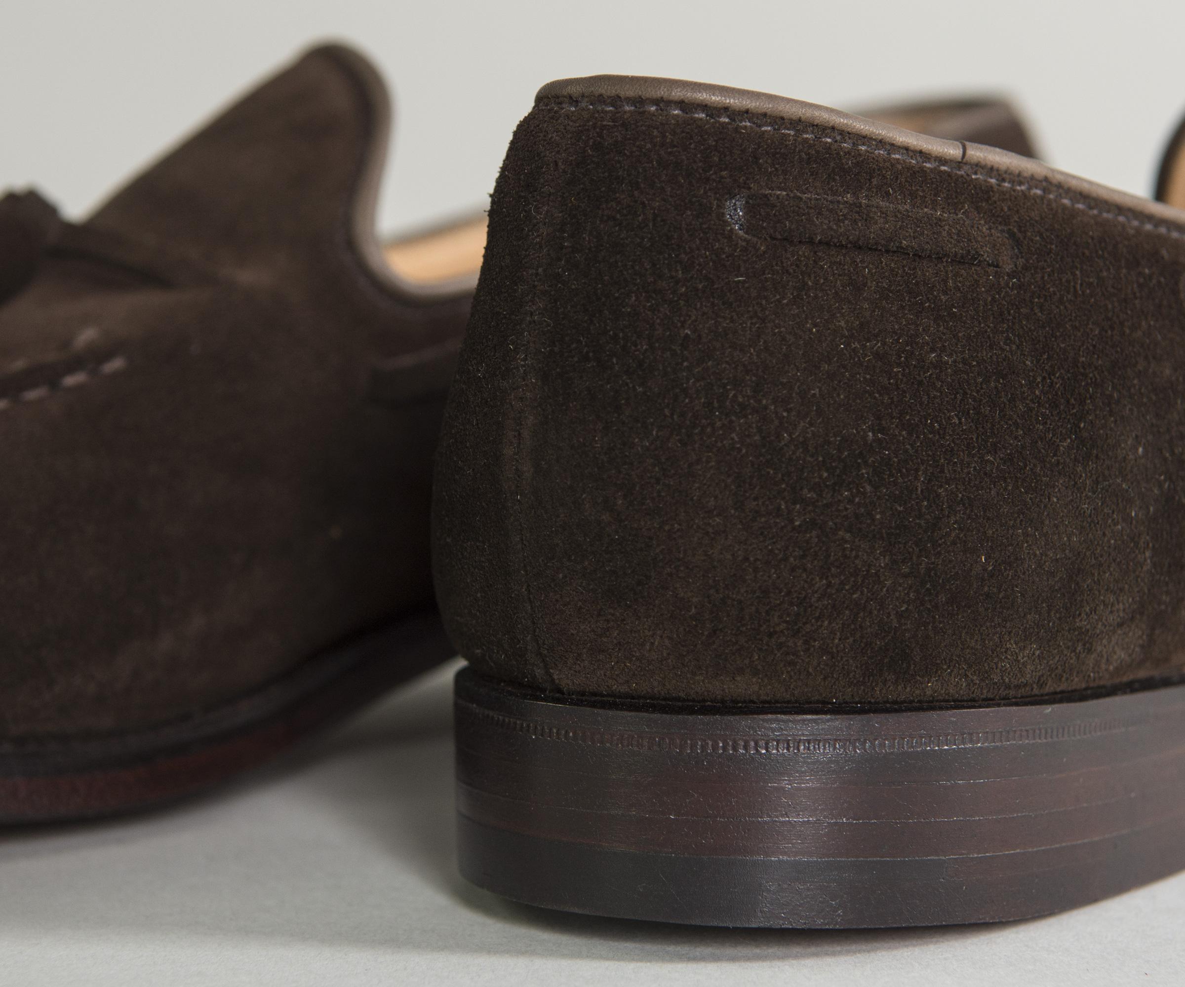 633e1eb5f67 Crockett and Jones -  cavendish  Calf Suede Loafers Dark Brown for Men -  Lyst. View fullscreen