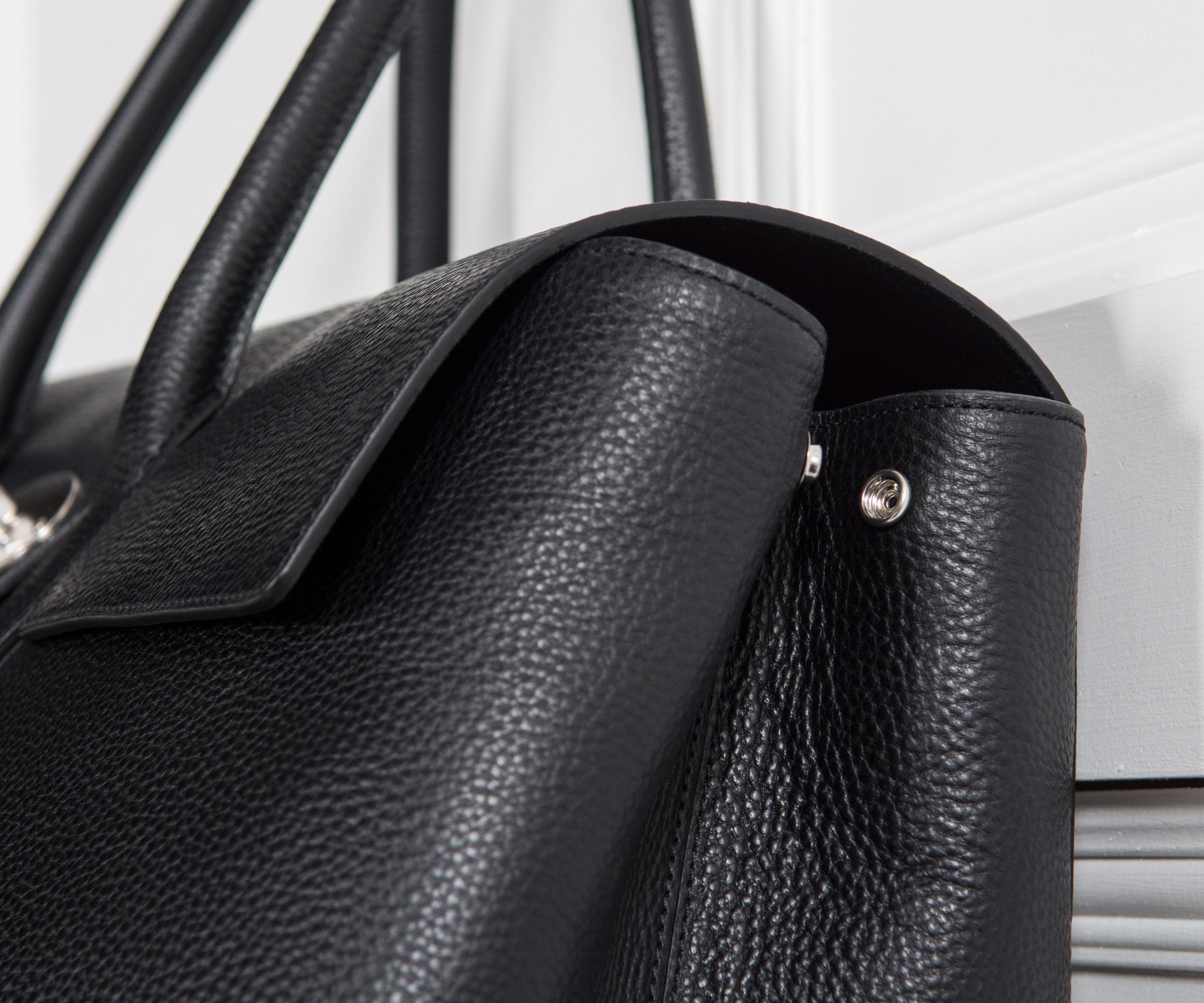 0745c21e19 ... switzerland lyst mulberry new piccadilly natural grain leather holdall  e7592 ef489