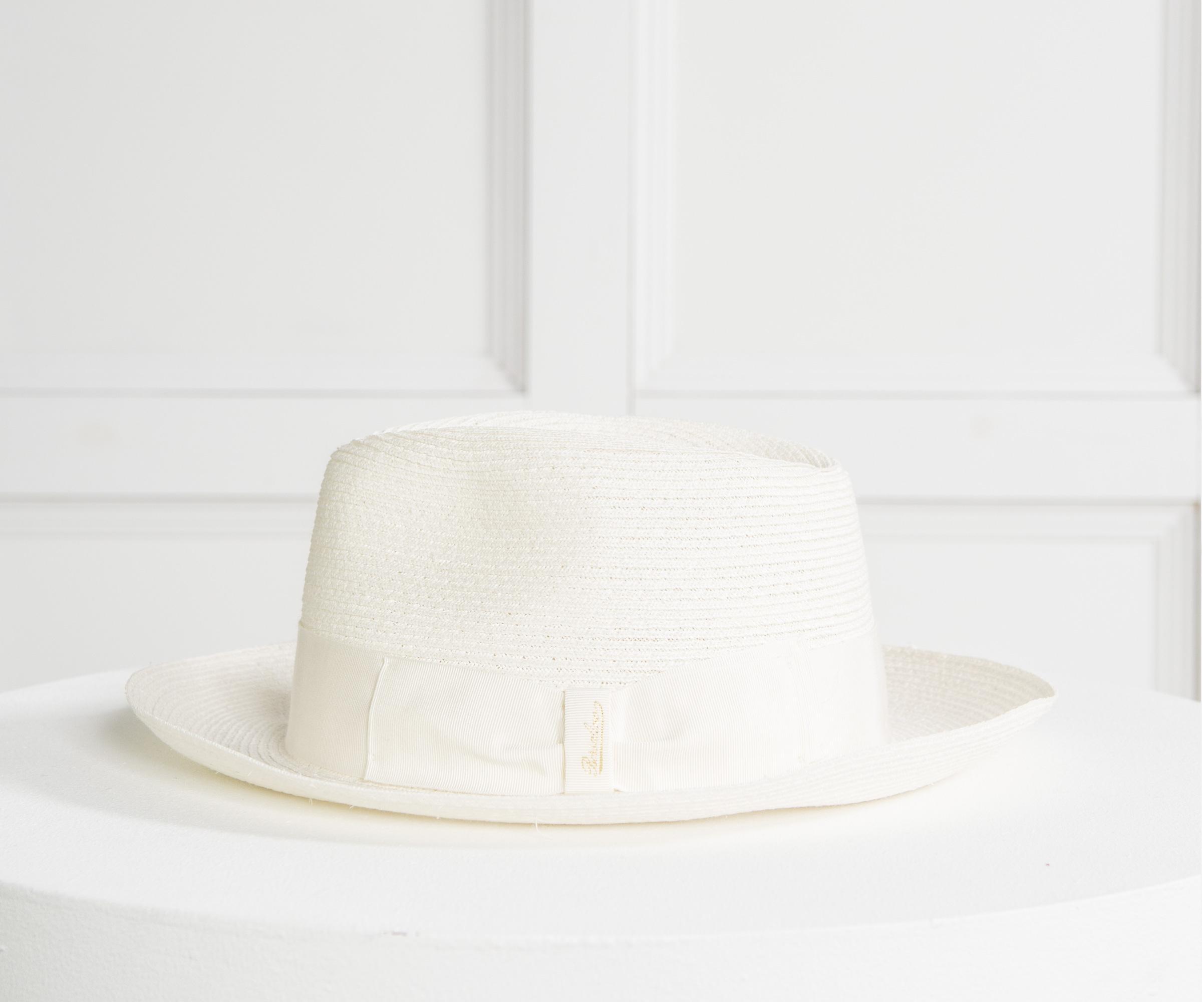 Borsalino  1107  Hemp Trilby Hat Cream in Natural for Men - Lyst 1aa26867d546