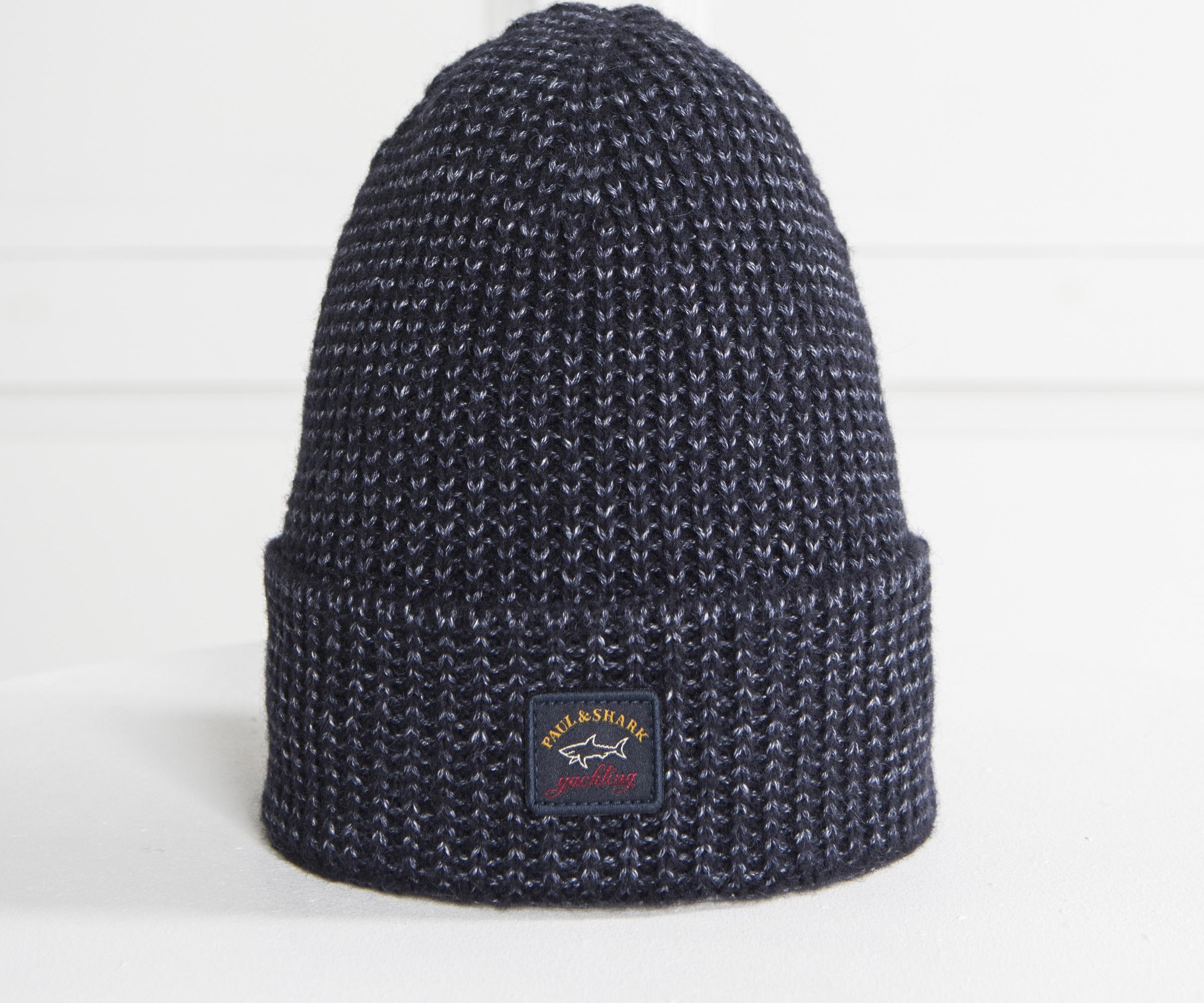 f139725da5d79 Lyst - Paul   Shark Soft Wool Hat Navy in Blue for Men