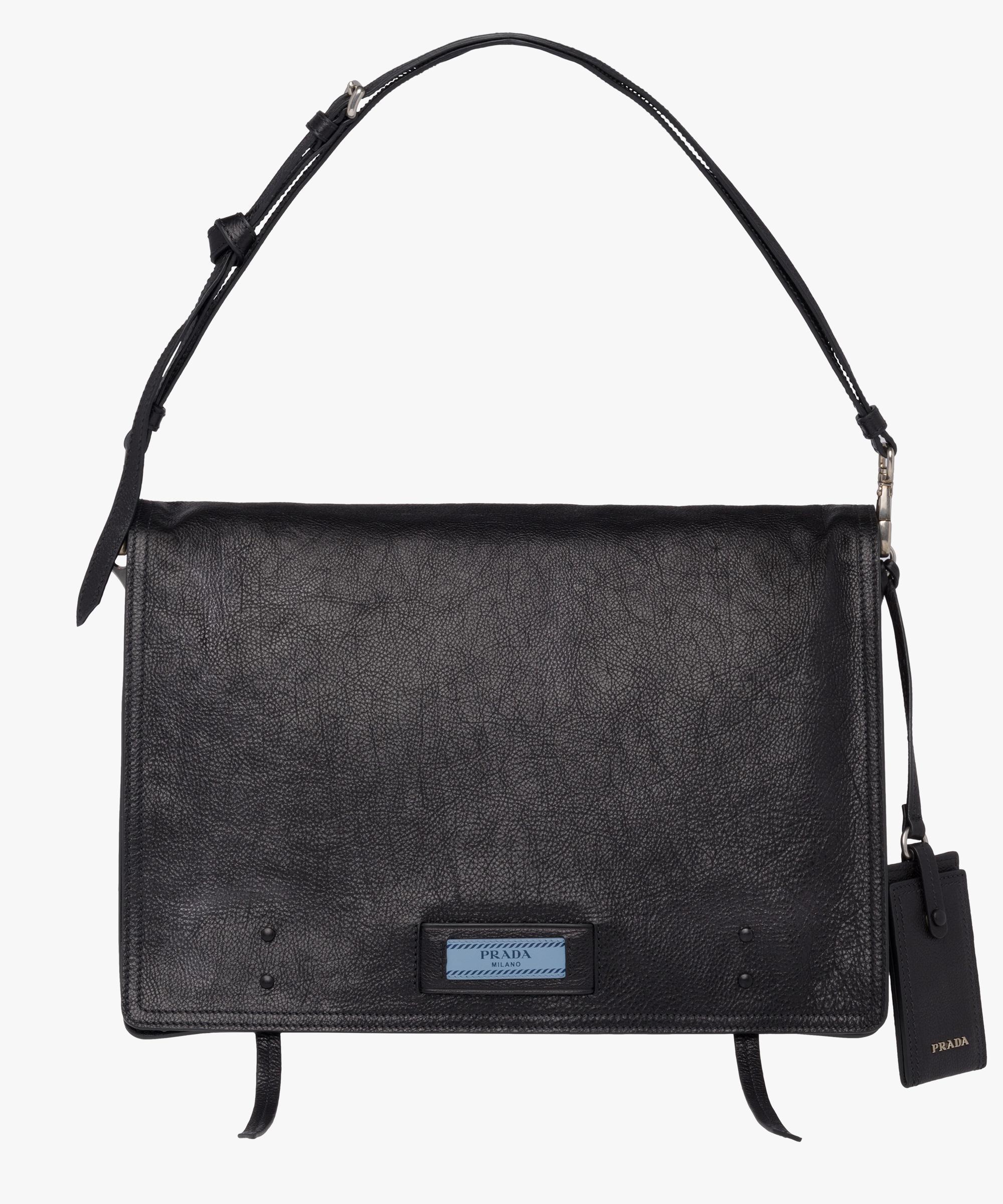 1d8405b3c2cb Prada Etiquette Bag in Black - Lyst