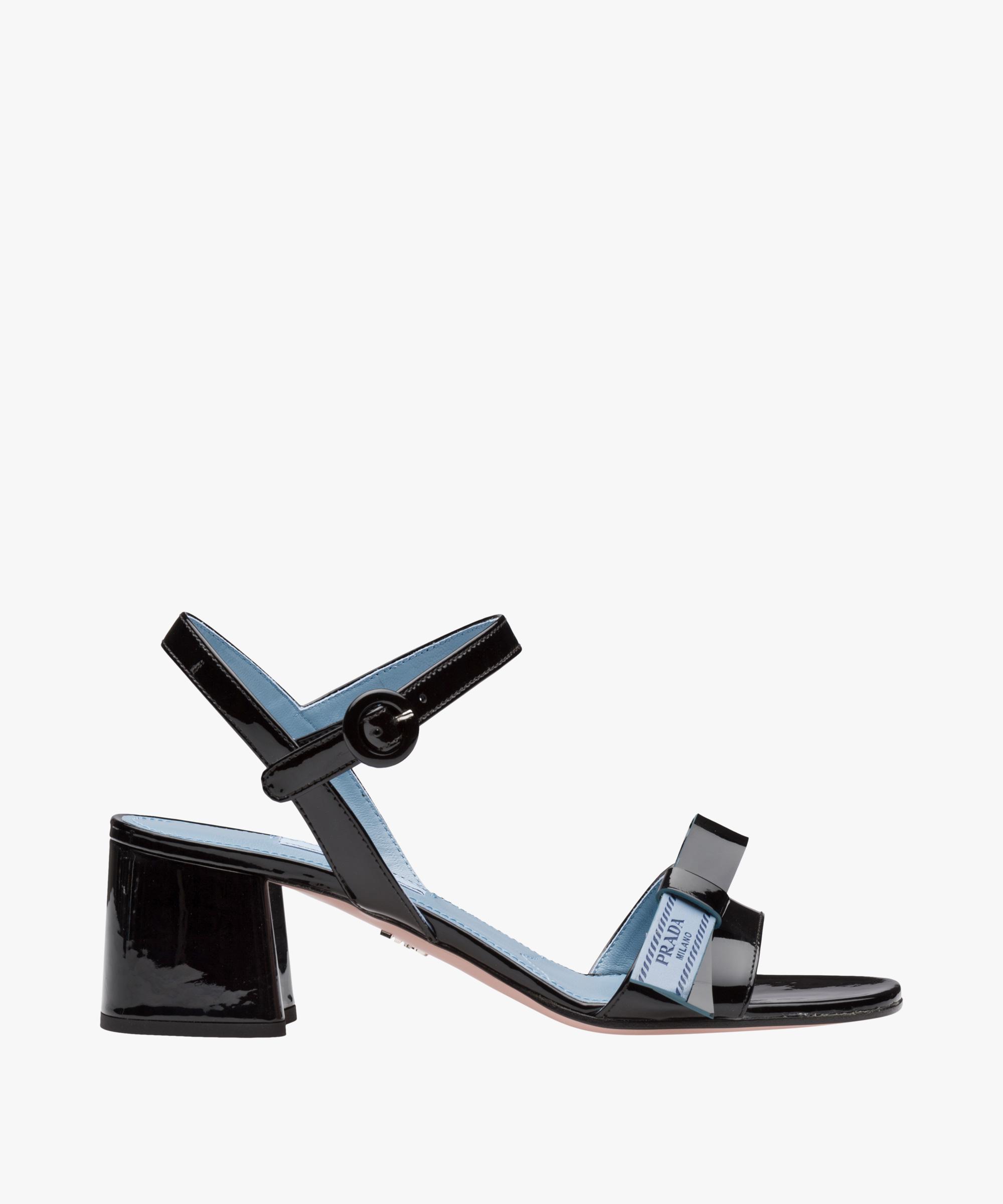 Etiquette sandals - Black Prada 7YjfYpb