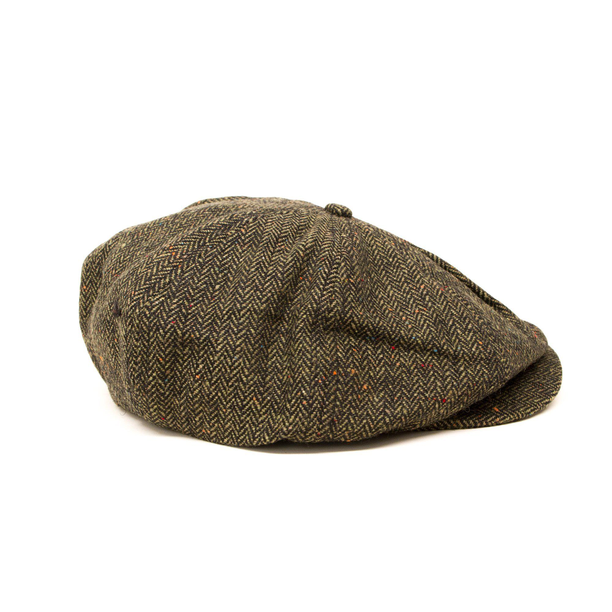 24ba257985e Dickies - Green Tucson Tweed Flat Cap for Men - Lyst. View fullscreen