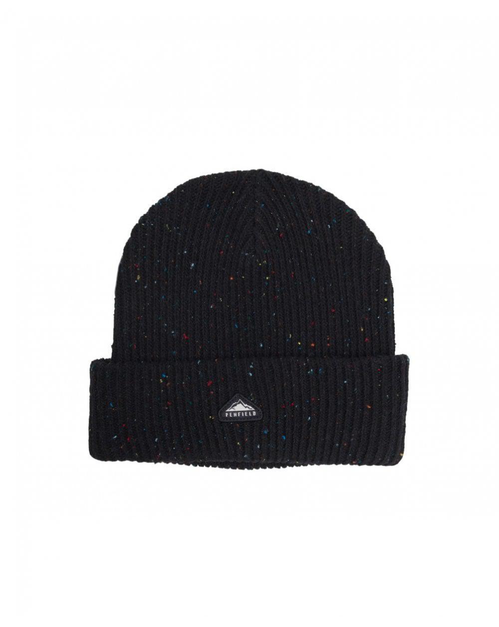 44928d959 Penfield - Black Harris Fleck Beanie Hat for Men - Lyst. View fullscreen