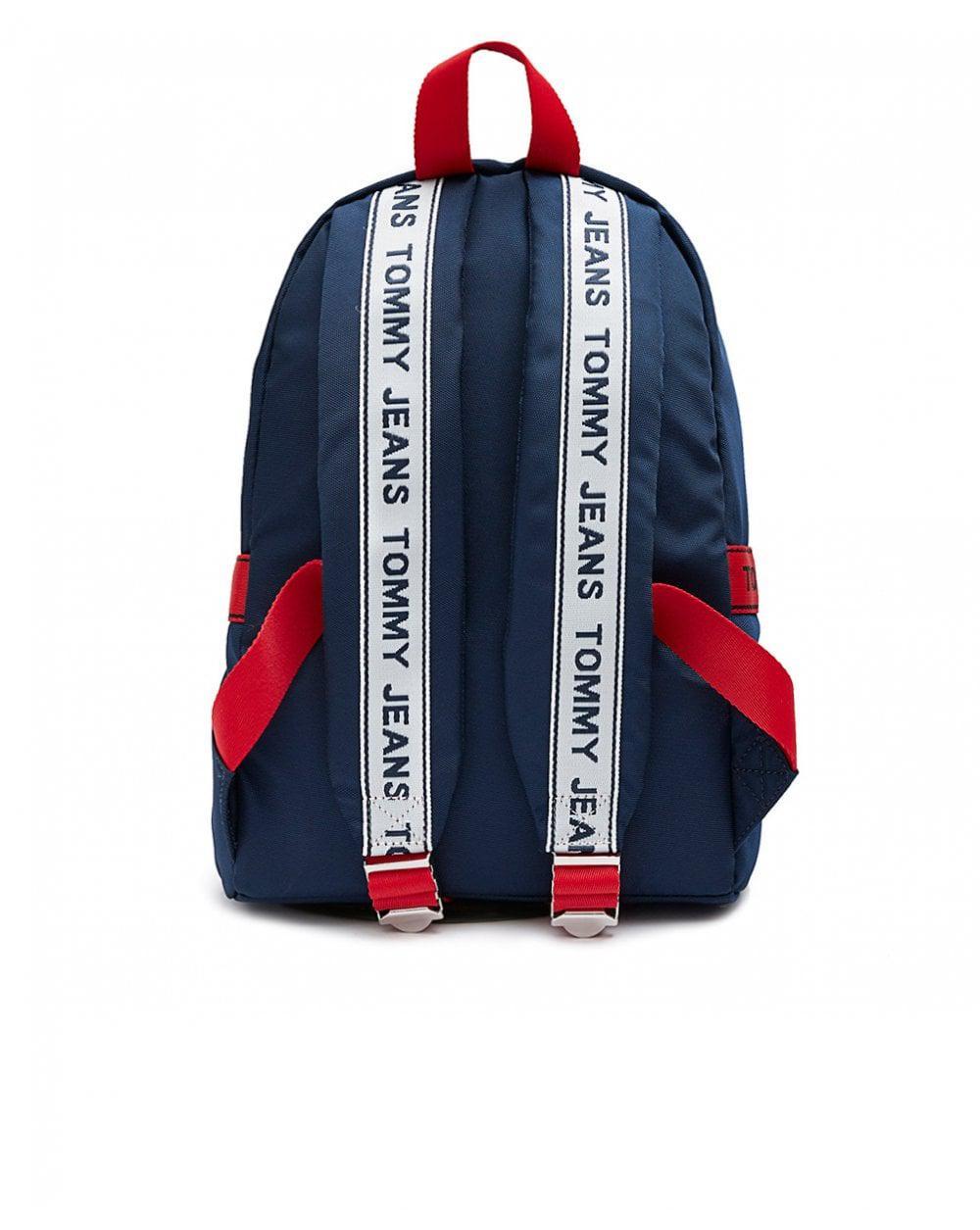 fa4f7a8b Tommy Hilfiger Tj Logo Tape Mini Backpack in Blue - Lyst