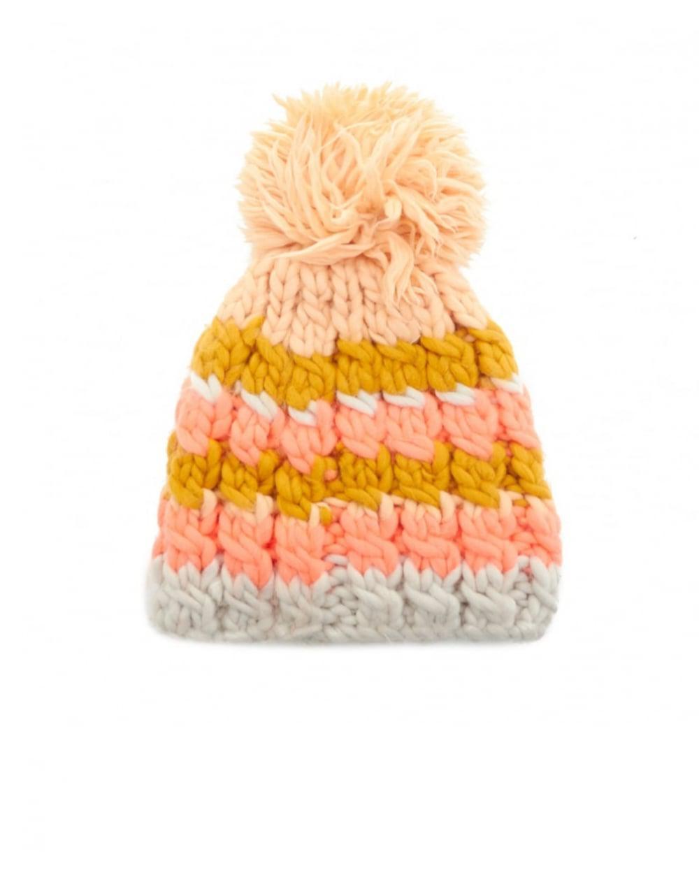 5beedeb793e Barts Aurora Faux Fur Pom Pom Hat - Lyst