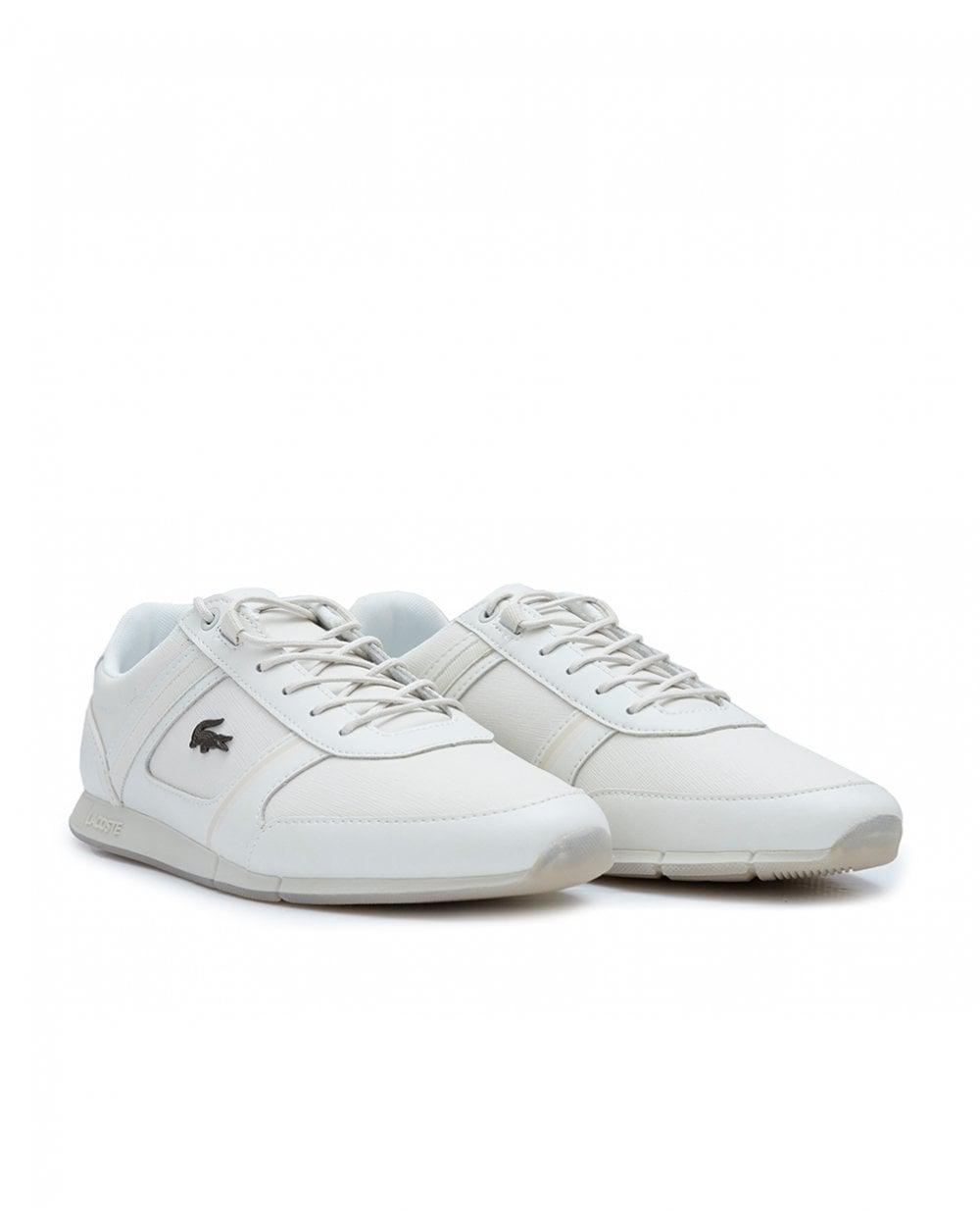 fe9c473338ab22 Lacoste Menerva Trainers in White for Men - Lyst
