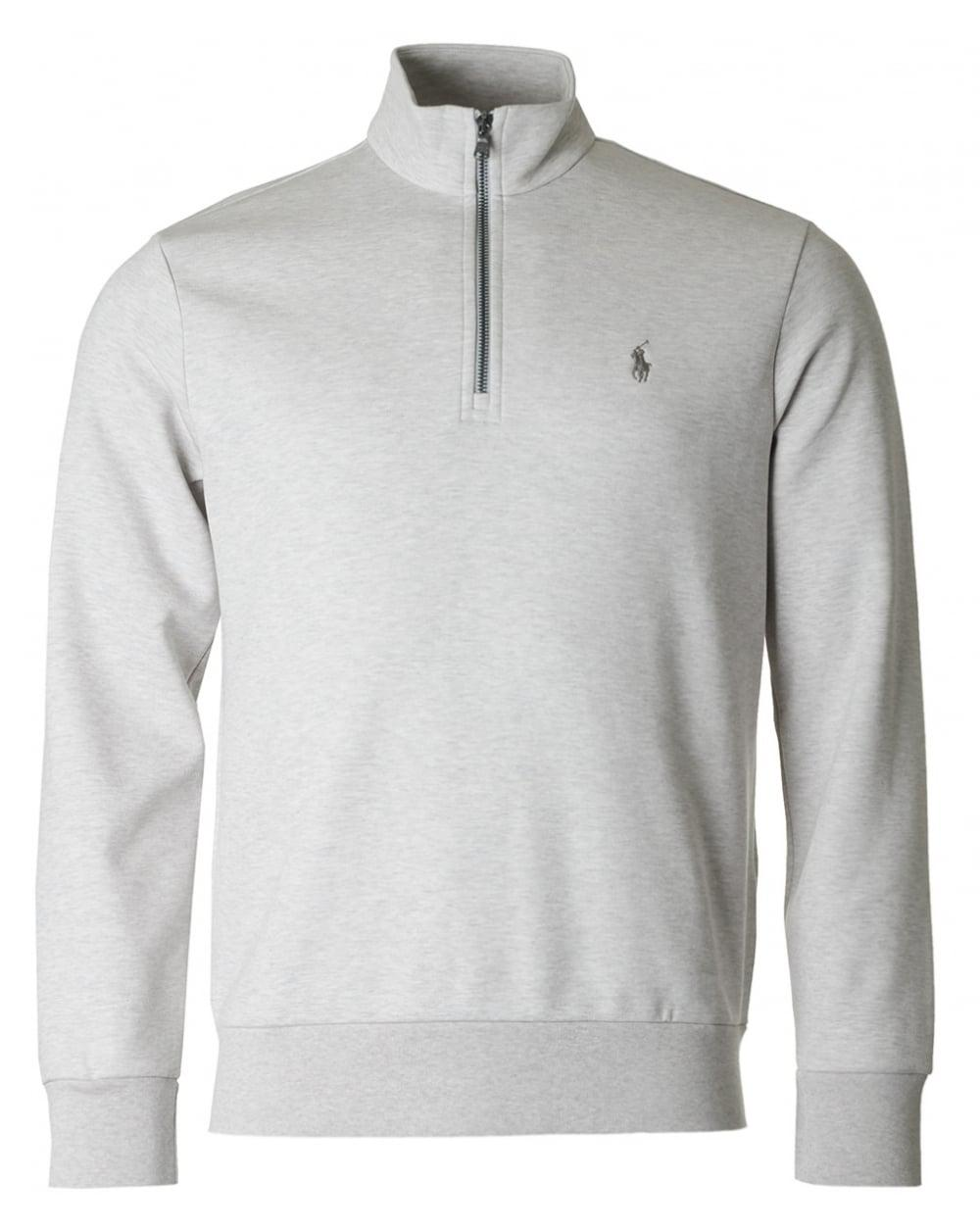 731a4b1b71de Lyst - Polo Ralph Lauren Double Knit Half Zip Sweat in .