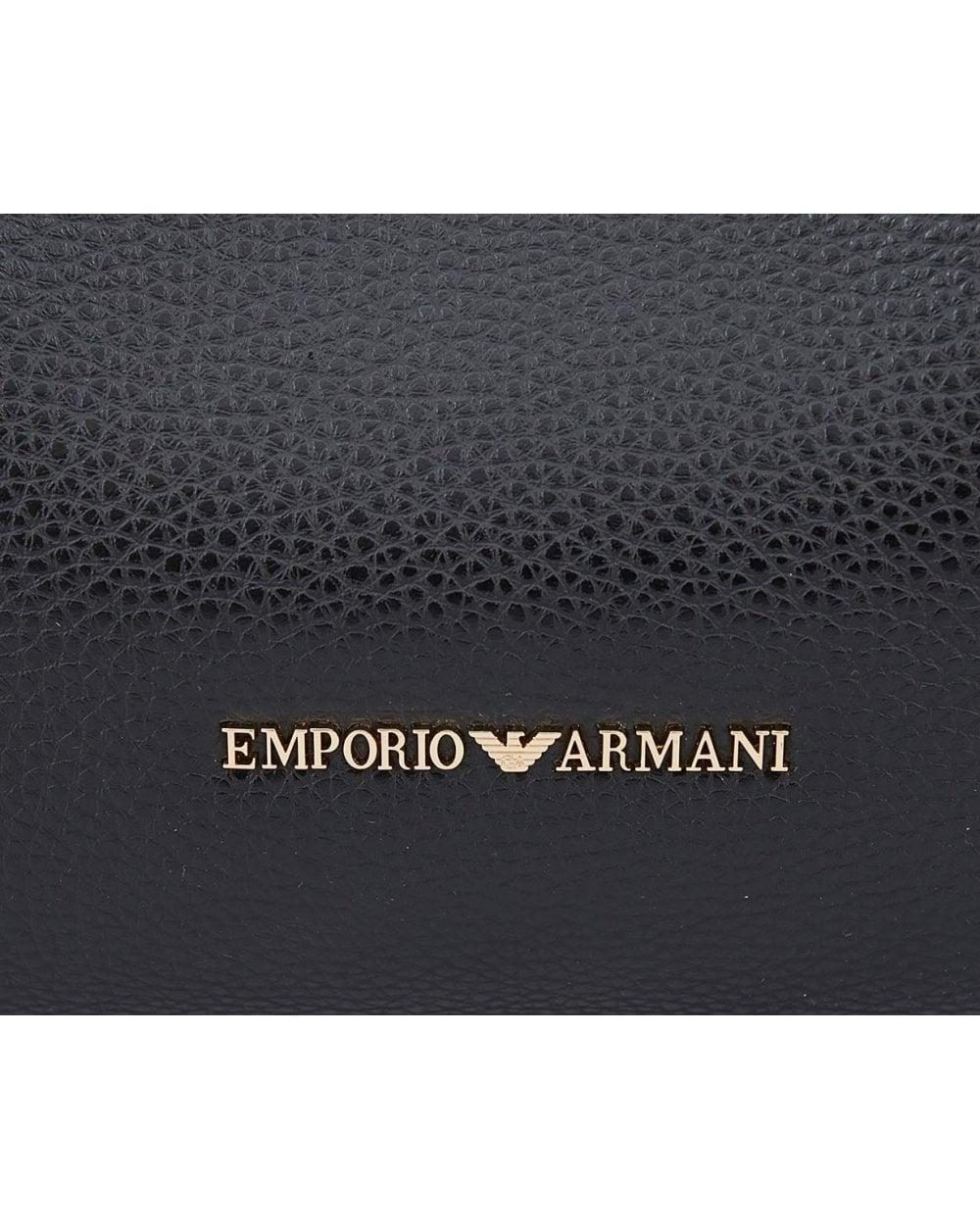 6efefaa753e5 Lyst - Emporio Armani Maya Slouchy Shopper Bag in Black for Men