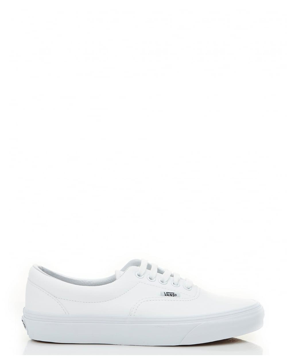 Lyst - Vans Era Leather Authentic Trainers in White for Men bacad9026