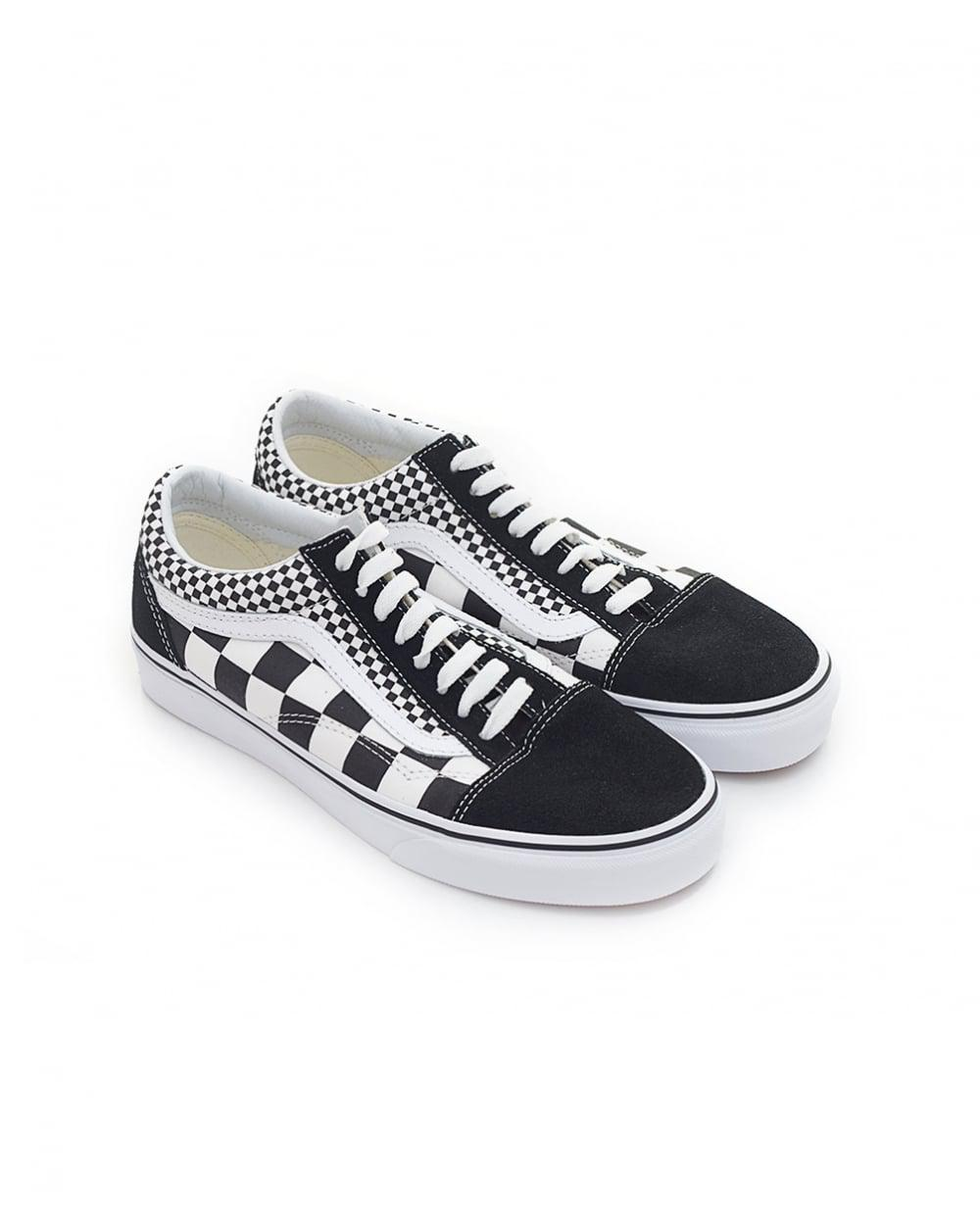 141a9fceca66 Lyst - Vans Old Skool Mixed Check Trainers for Men