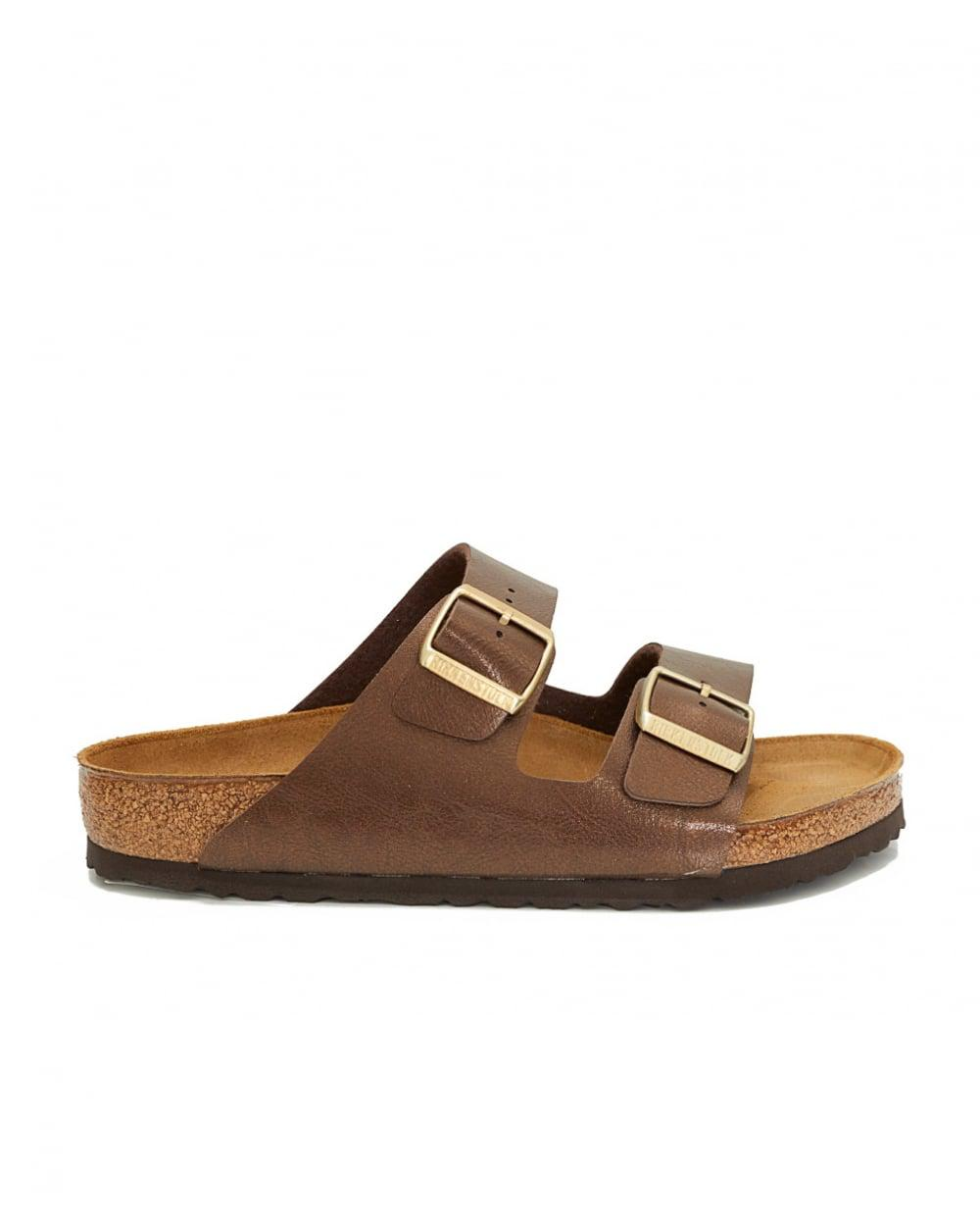 b1950187feb3 Lyst - Birkenstock Arizona Regular Two Strap Sandals in Brown
