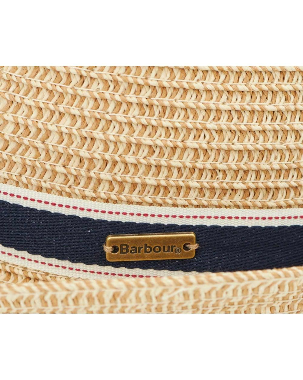 27d7ab7dcb8eb Lyst - Barbour Lagoon Trilby Hat in Natural