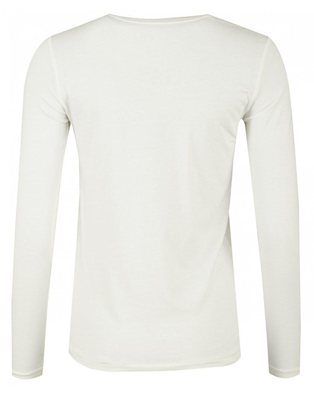 f1812ae2 authentic lyst polo ralph lauren long sleeved logo in white for men 9670c  8e57f
