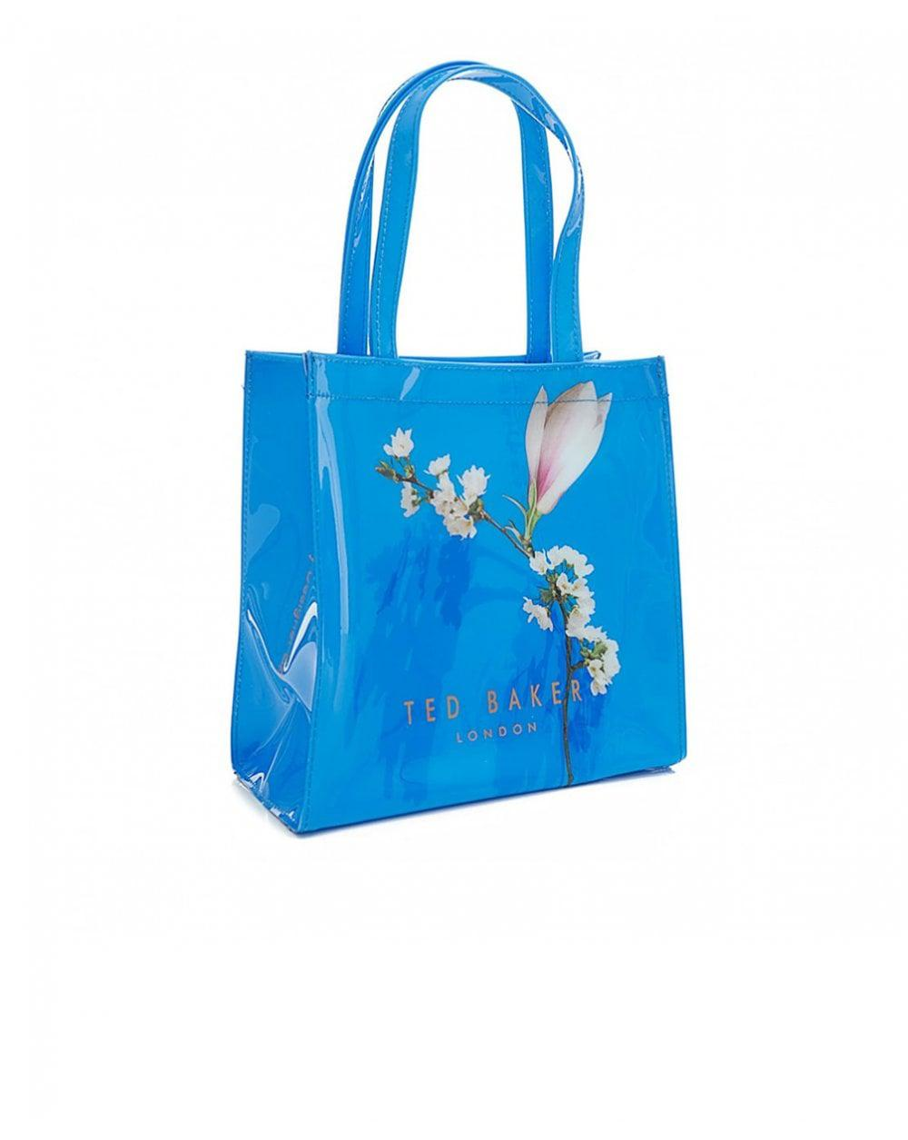 35df746c2582d1 Ted Baker Harmony Print Pv Large Icon Bag in Blue - Lyst