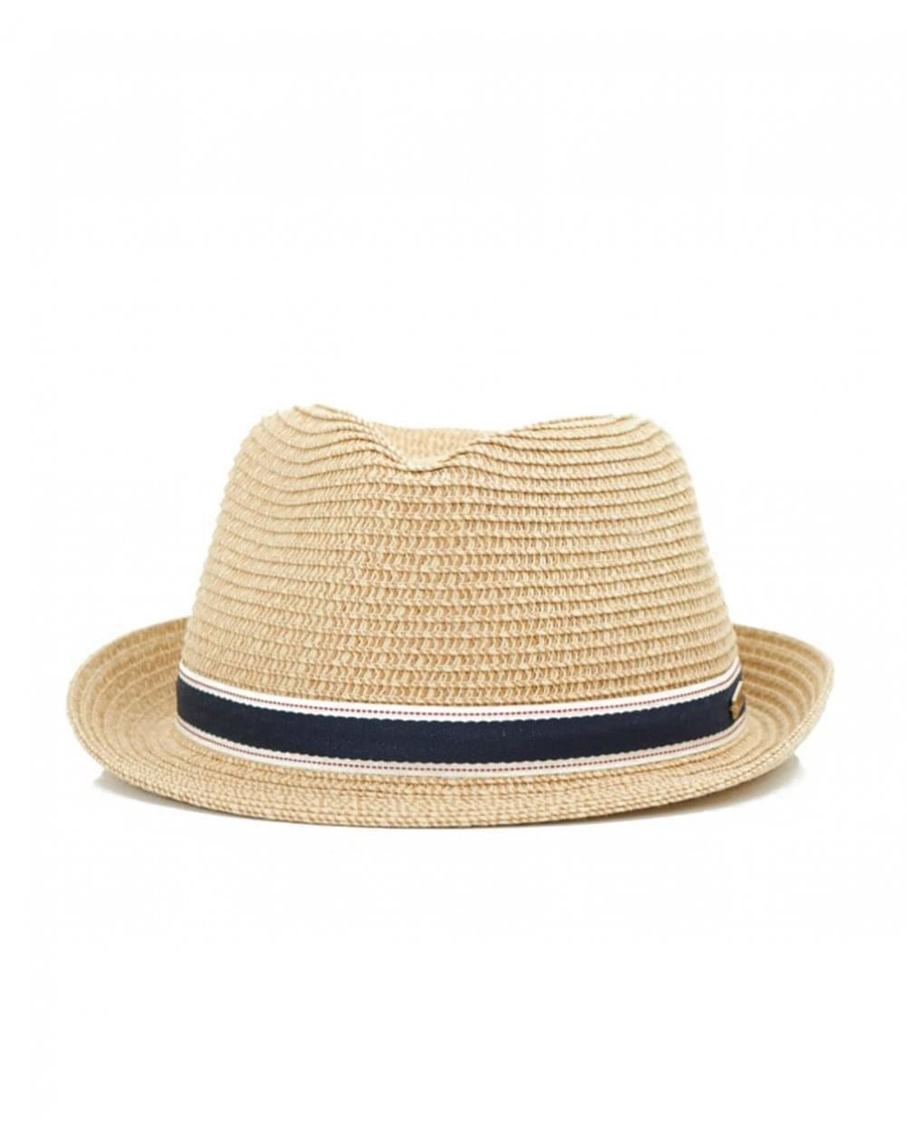 4abd7a359d149 Barbour Lagoon Trilby Hat in Natural - Lyst
