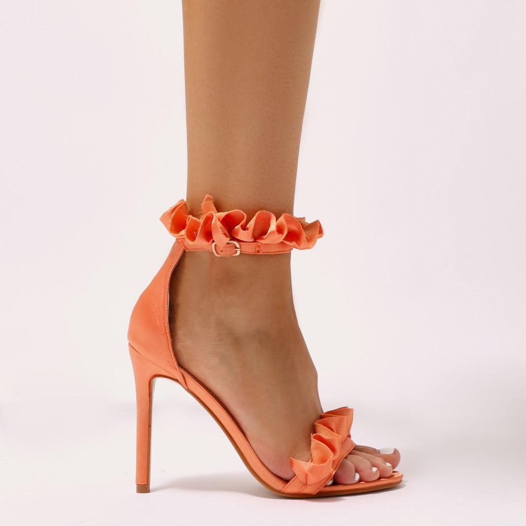 Public Desire LUCID - High heeled sandals - orange lpJ122aM7L