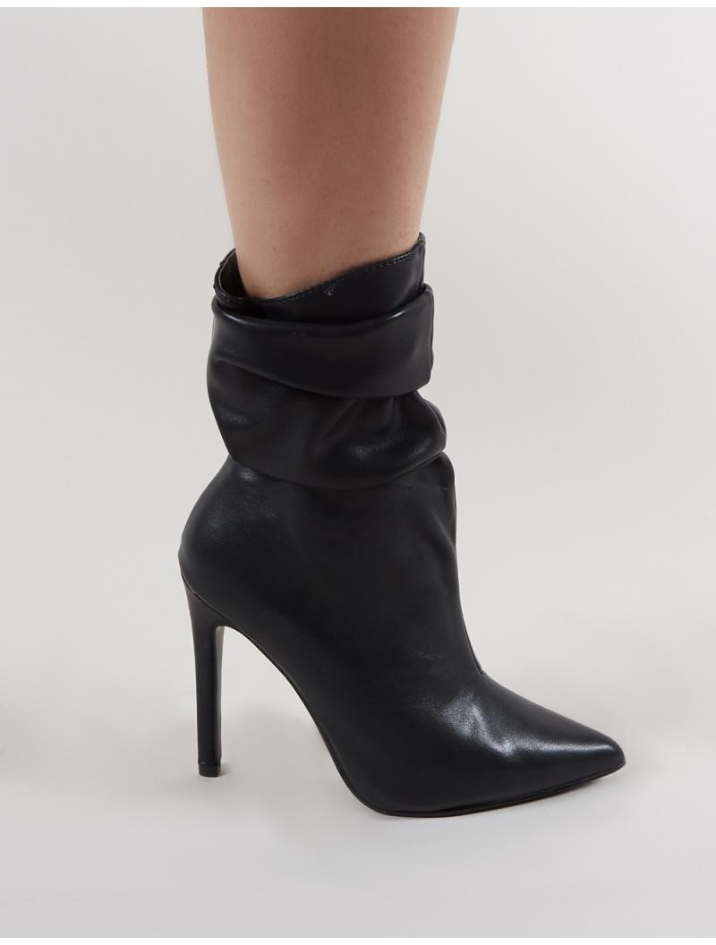 dbeb0838c94 Lyst - Public Desire Adorn Heeled Ankle Boots In Black in Black