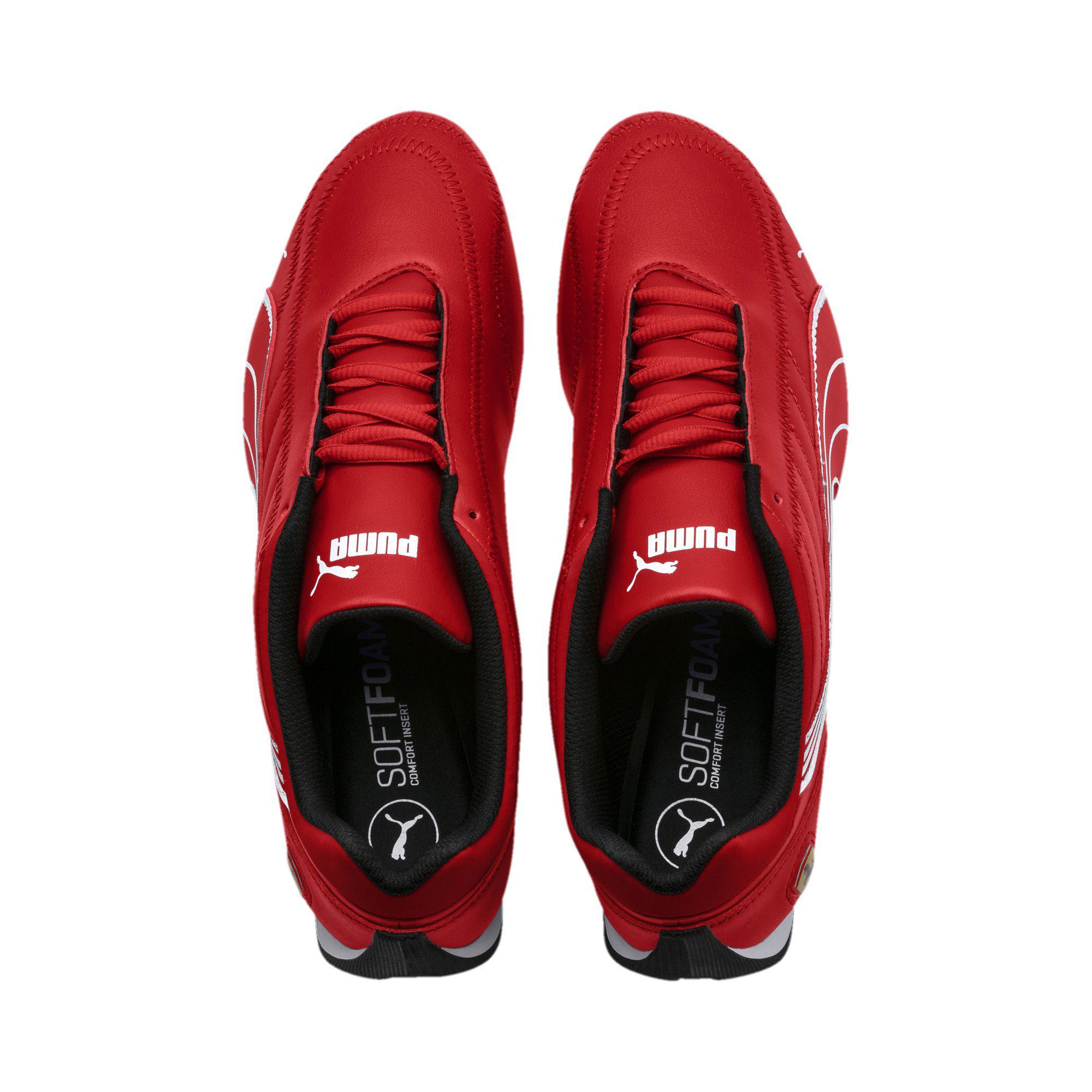 Lyst - PUMA Ferrari Future Cart Cat Men s Motorsport Shoes in Red ... d8c32d556