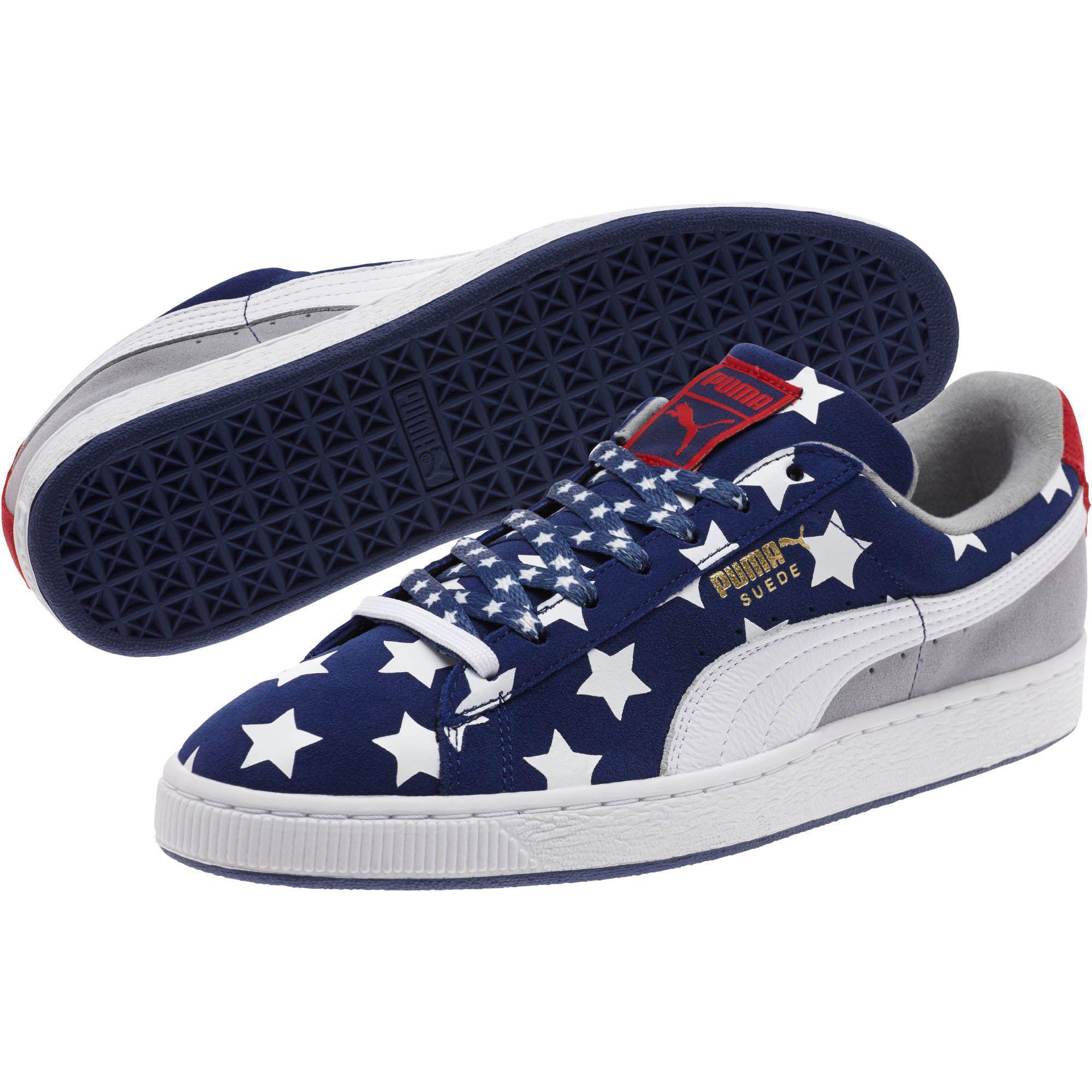 7ba3603b03e667 Lyst - PUMA Americana Suede Men s Sneakers in Brown for Men