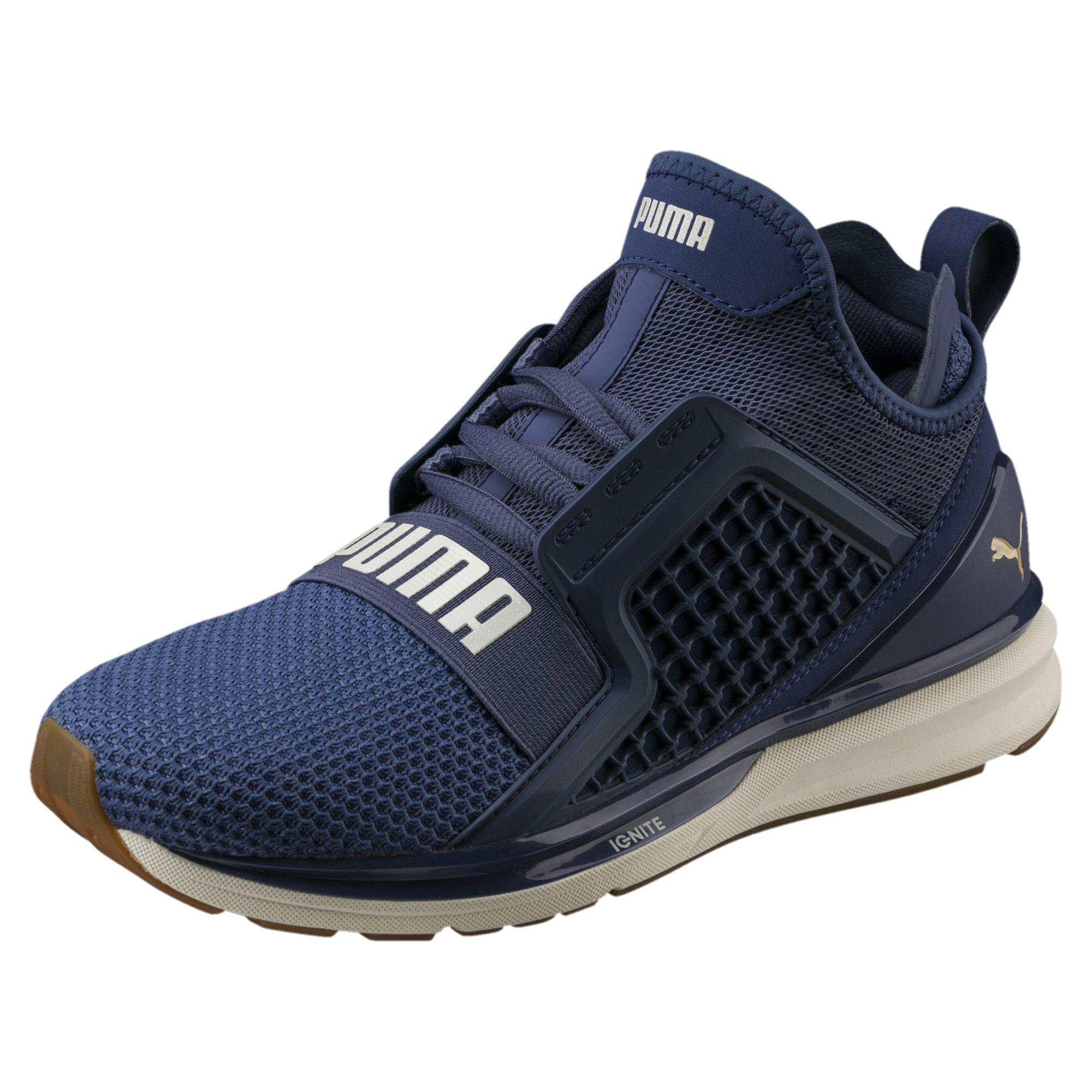 f997d5f0a80b27 Lyst - PUMA Ignite Limitless Weave Women s Running Shoes in Blue