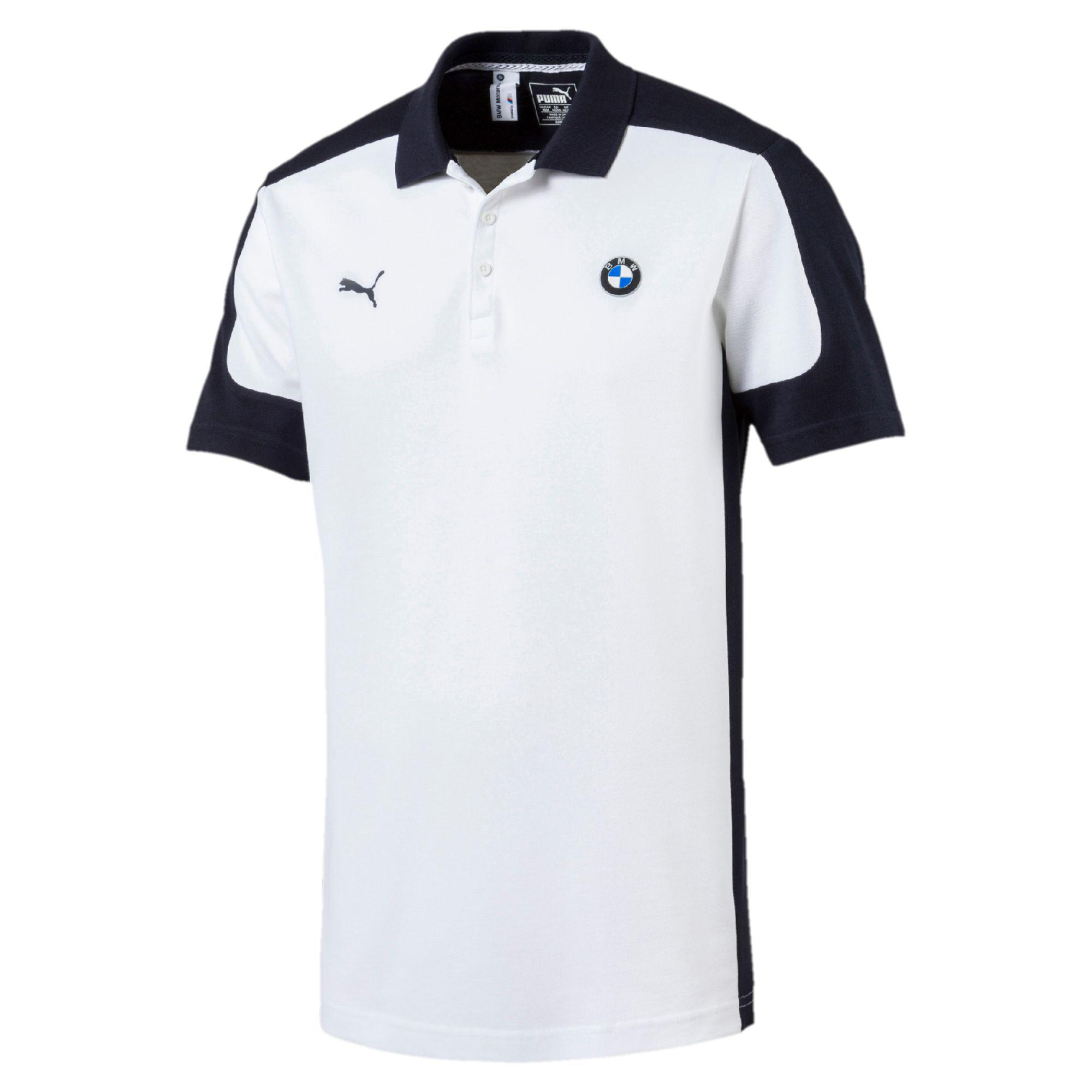 Lyst Puma Bmw Motorsport Polo Shirt In White For Men