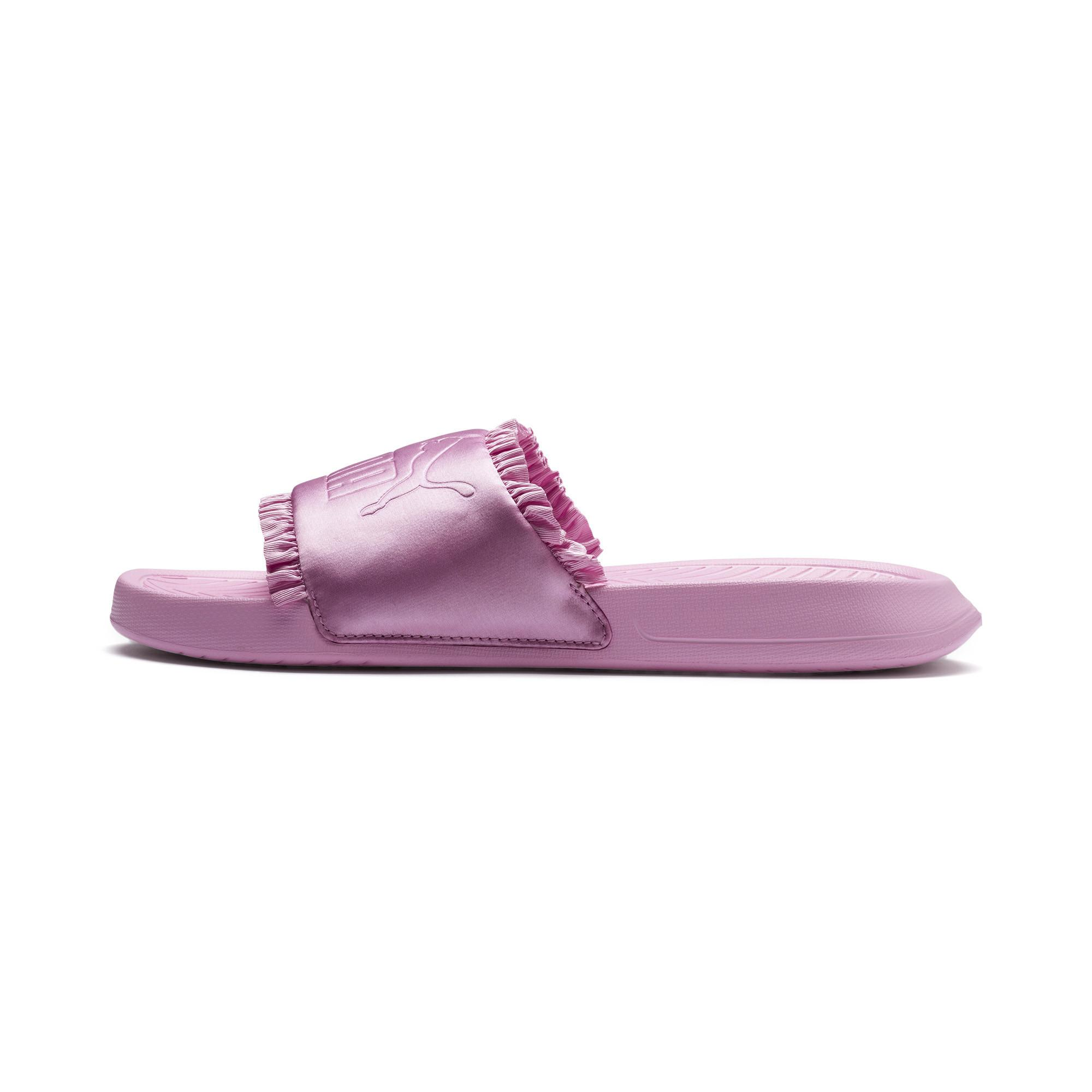13be9ea63fbf Lyst - PUMA Popcat Silk Women s Slide Sandals in Pink
