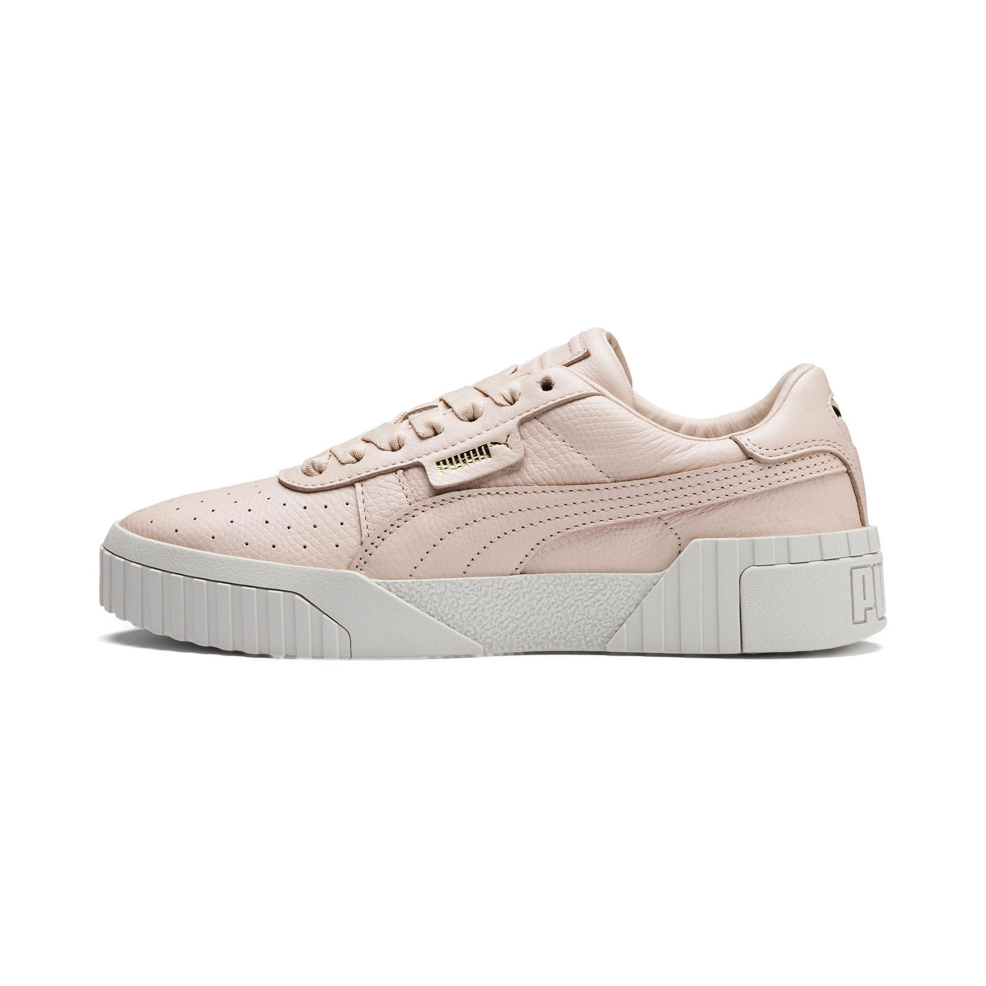 Lyst - PUMA Cali Emboss Women s Sneakers b90ba681e