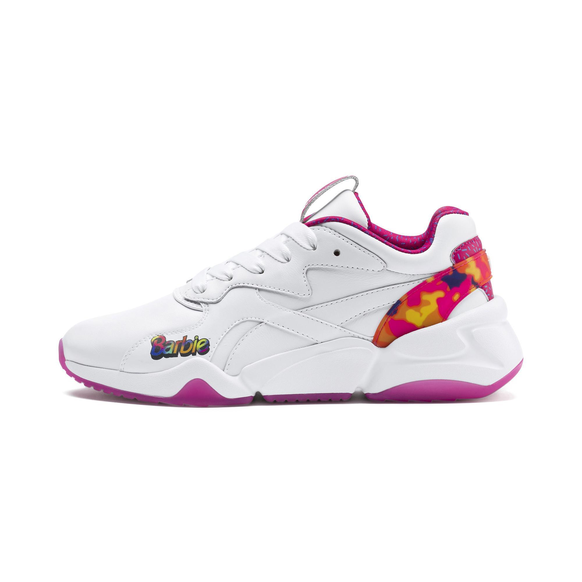 dfbc332234eb PUMA Nova X Barbie Flash Women s Sneakers in White - Lyst