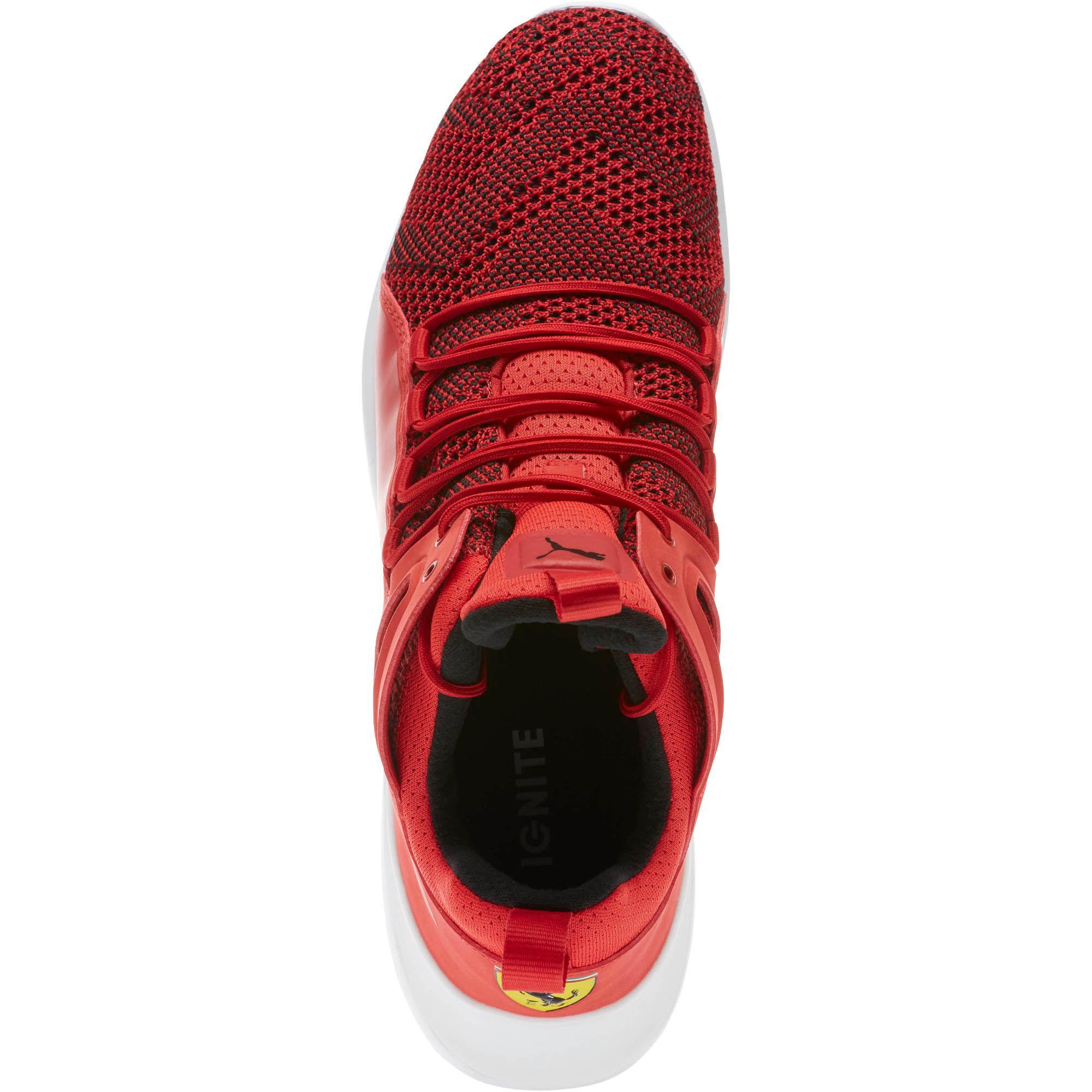 fbb32a23f PUMA Ferrari Evo Cat Mid High Top Sneakers in Red for Men - Lyst