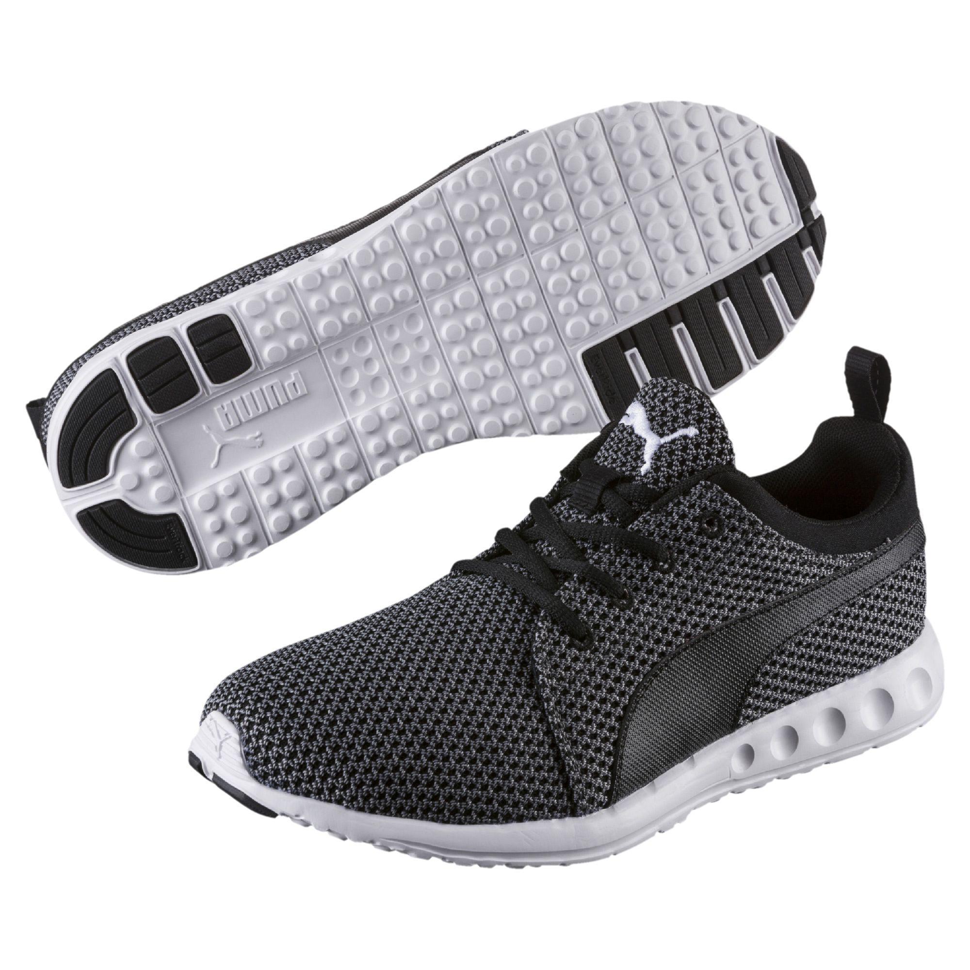3e698c19569f Lyst - PUMA Carson Runner Knit Men s Running Shoes in Black for Men