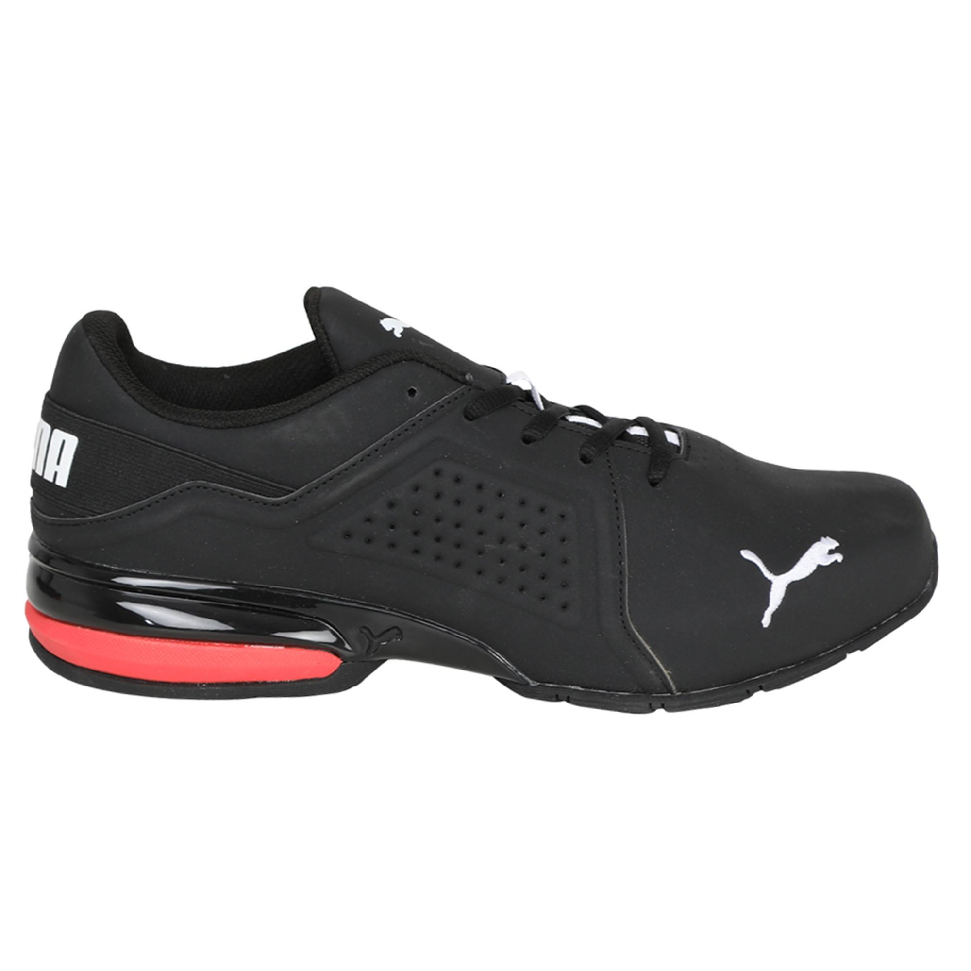 0cda365a4f9575 PUMA Viz Runner Men's Running Shoes in Black for Men - Lyst
